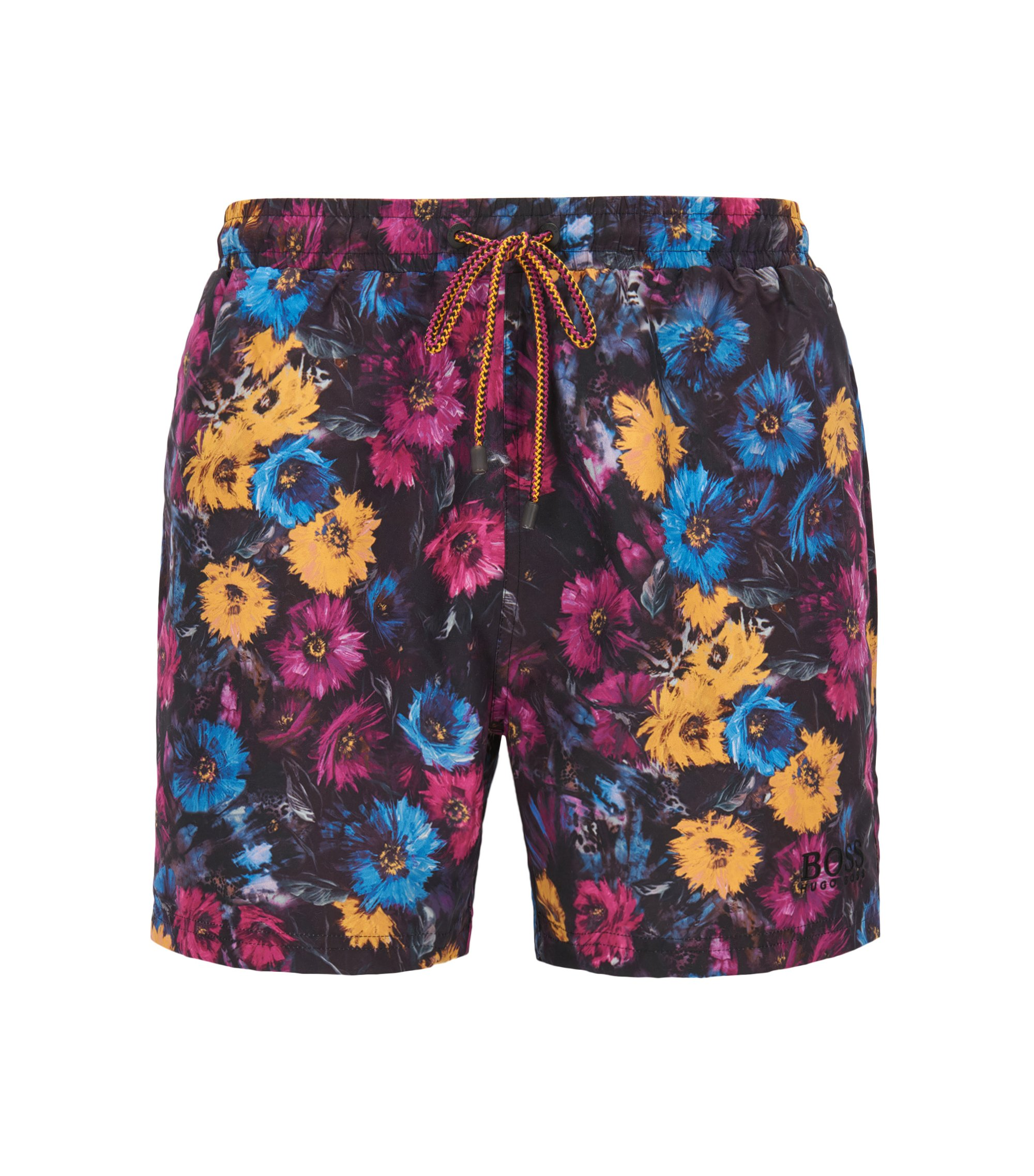 Quick Dry Swim Trunk | Piranha, Open Pink