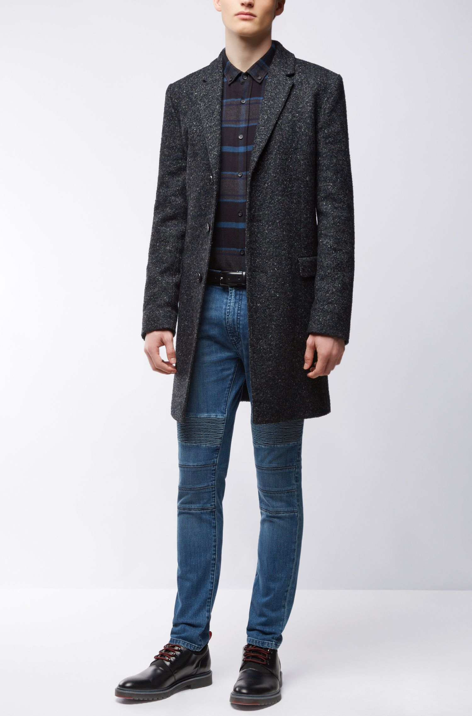 10.75 oz Stretch Cotton Blend Jeans, Skinny Fit | Hugo734