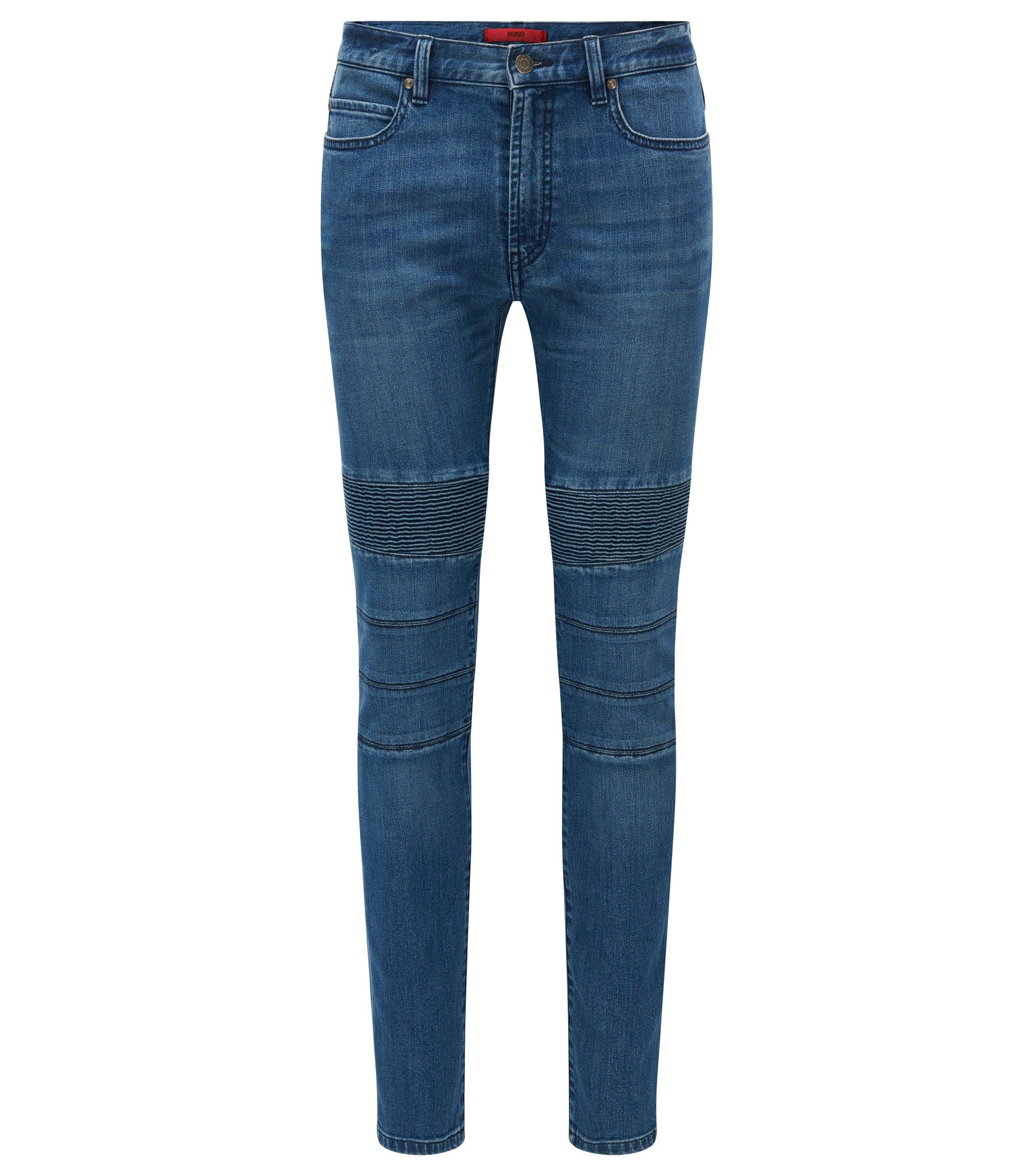 10.75 oz Stretch Cotton Blend Jeans, Skinny Fit | Hugo734, Blue