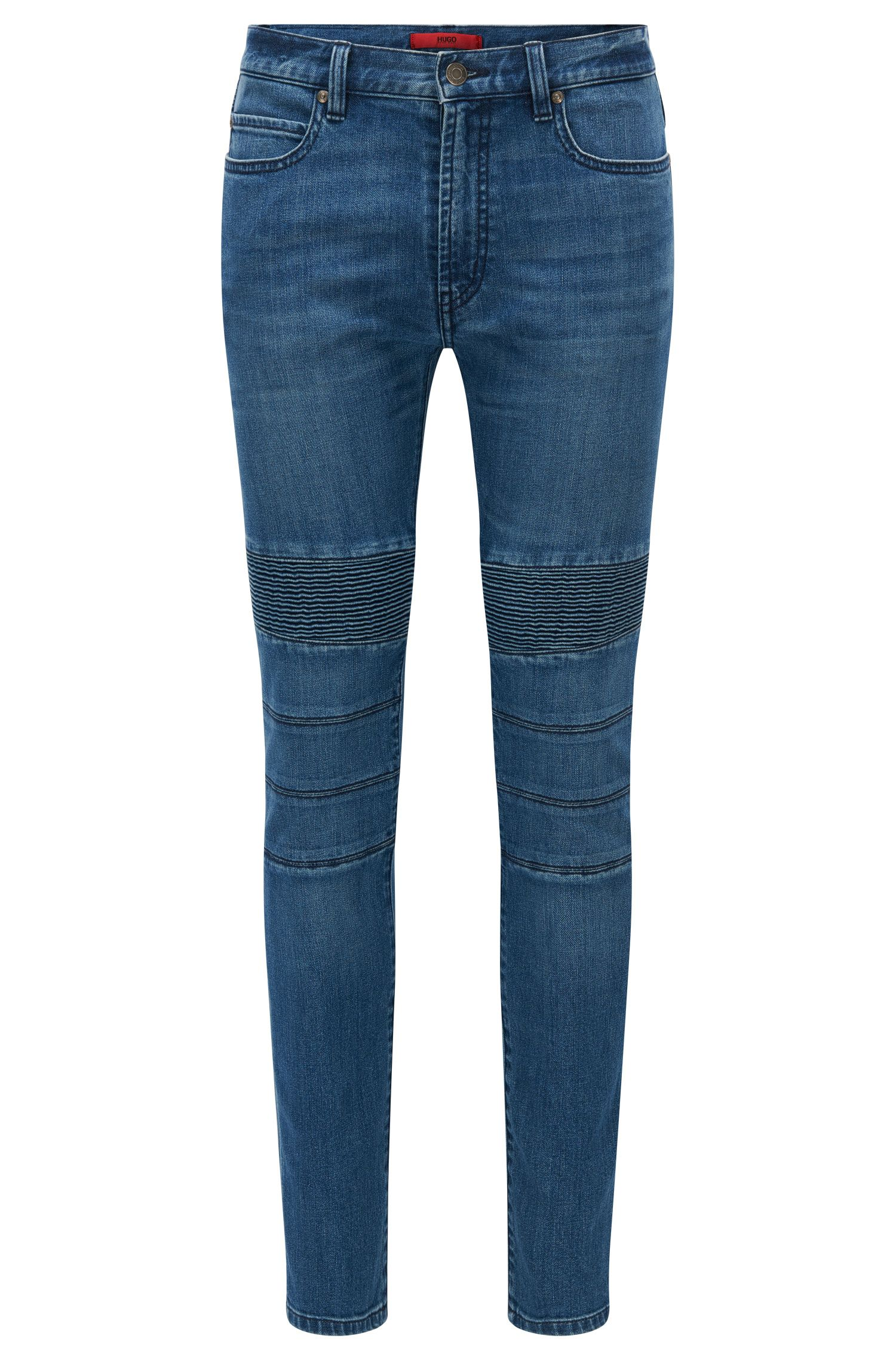 'HUGO 734' | Skinny Fit, 10.75 oz Stretch Cotton Blend Jeans