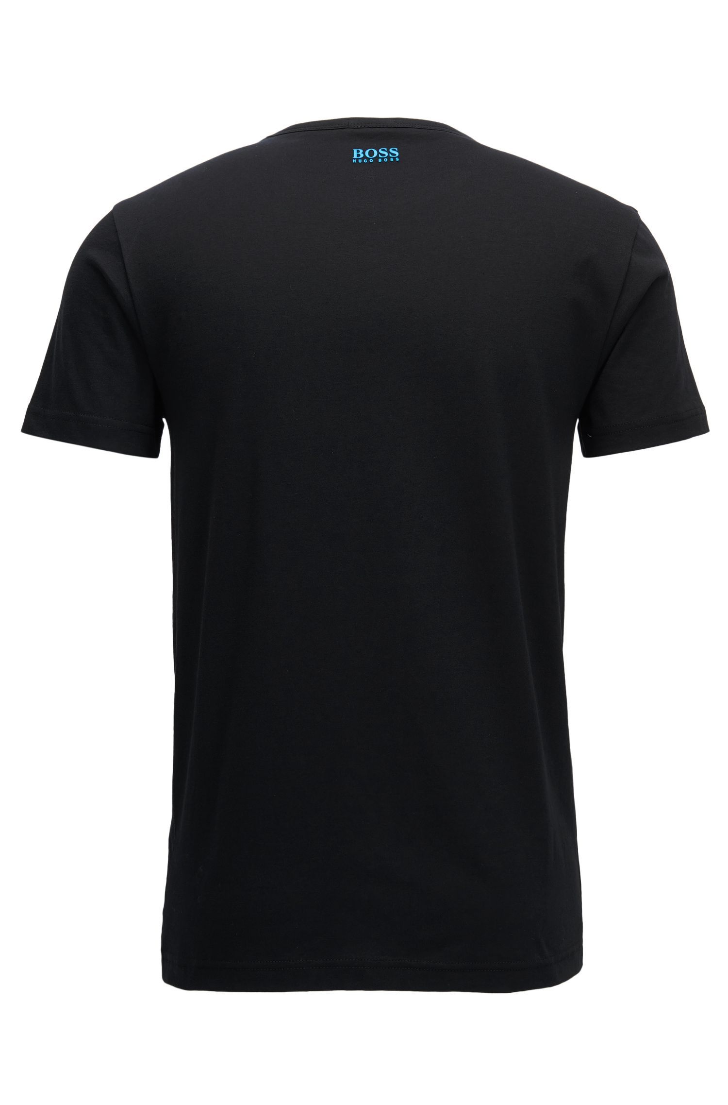 Cotton Graphic T-Shirt | Tee, Black