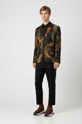 Hugo Extra Slim Fit Dress Shirt In Cotton Sateen