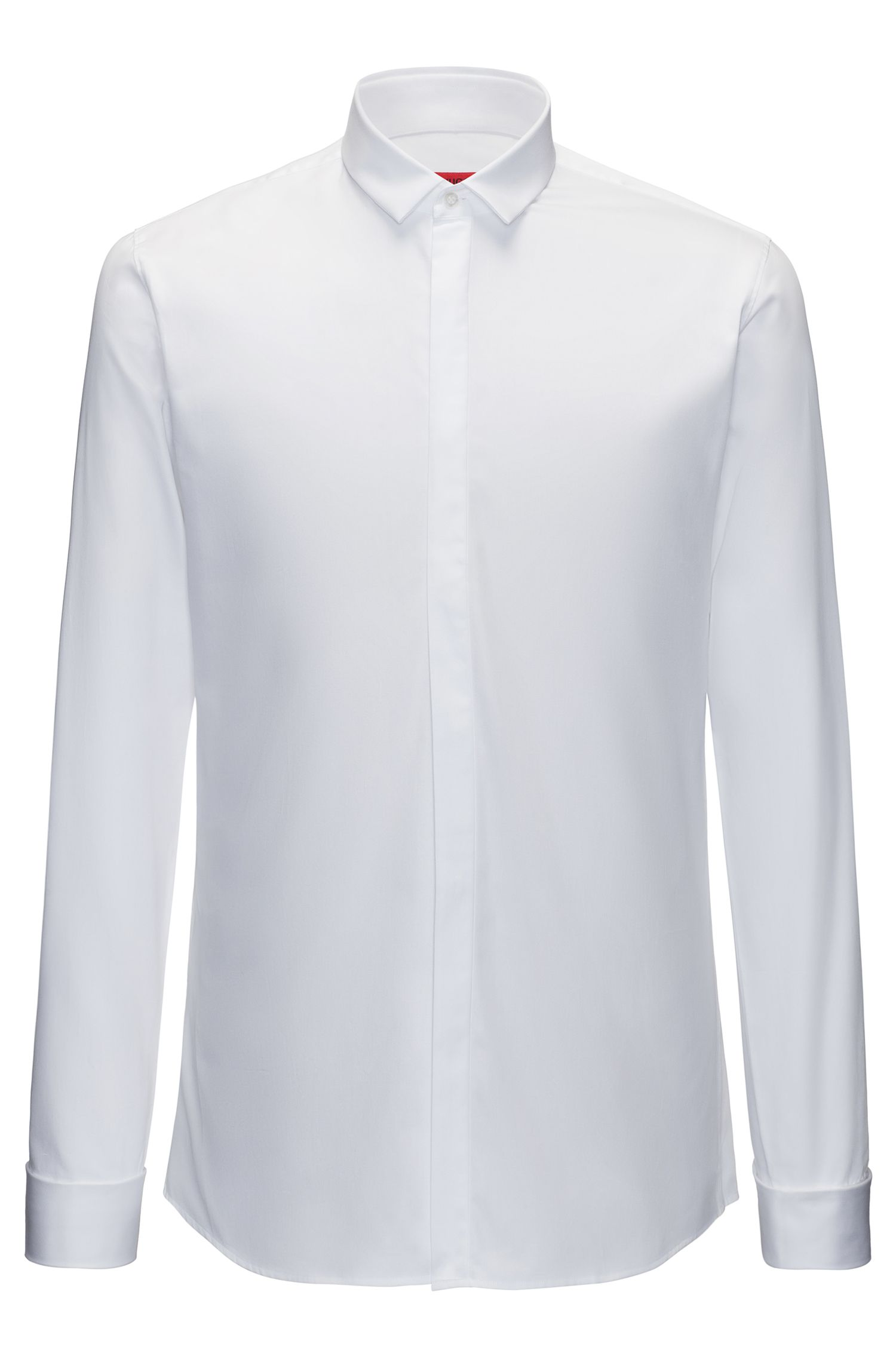 Easy-Iron Cotton Dress Shirt, Extra Slim Fit | Ejinar