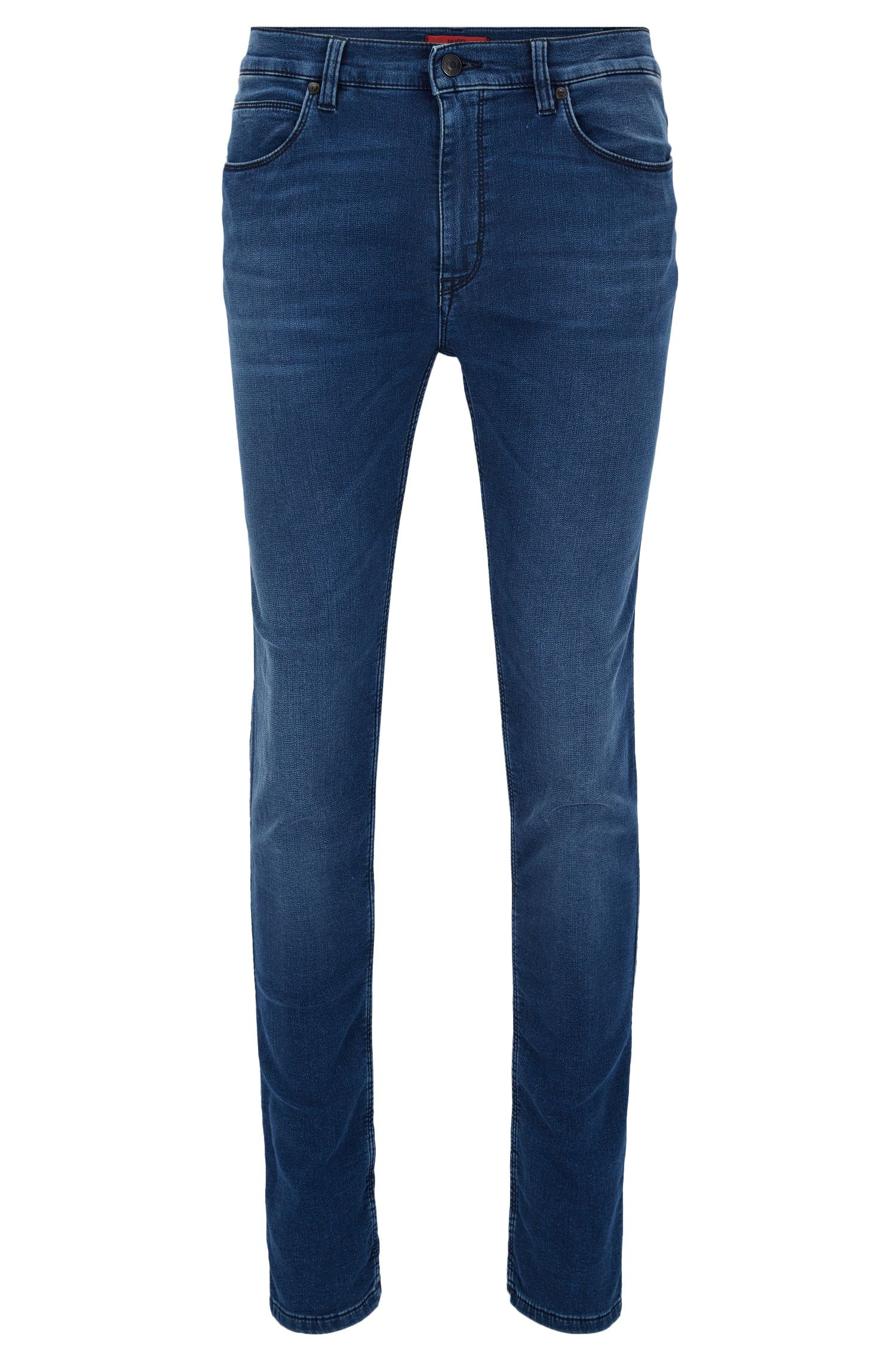 Stretch Cotton Jean, Skinny Fit | HUGO 734