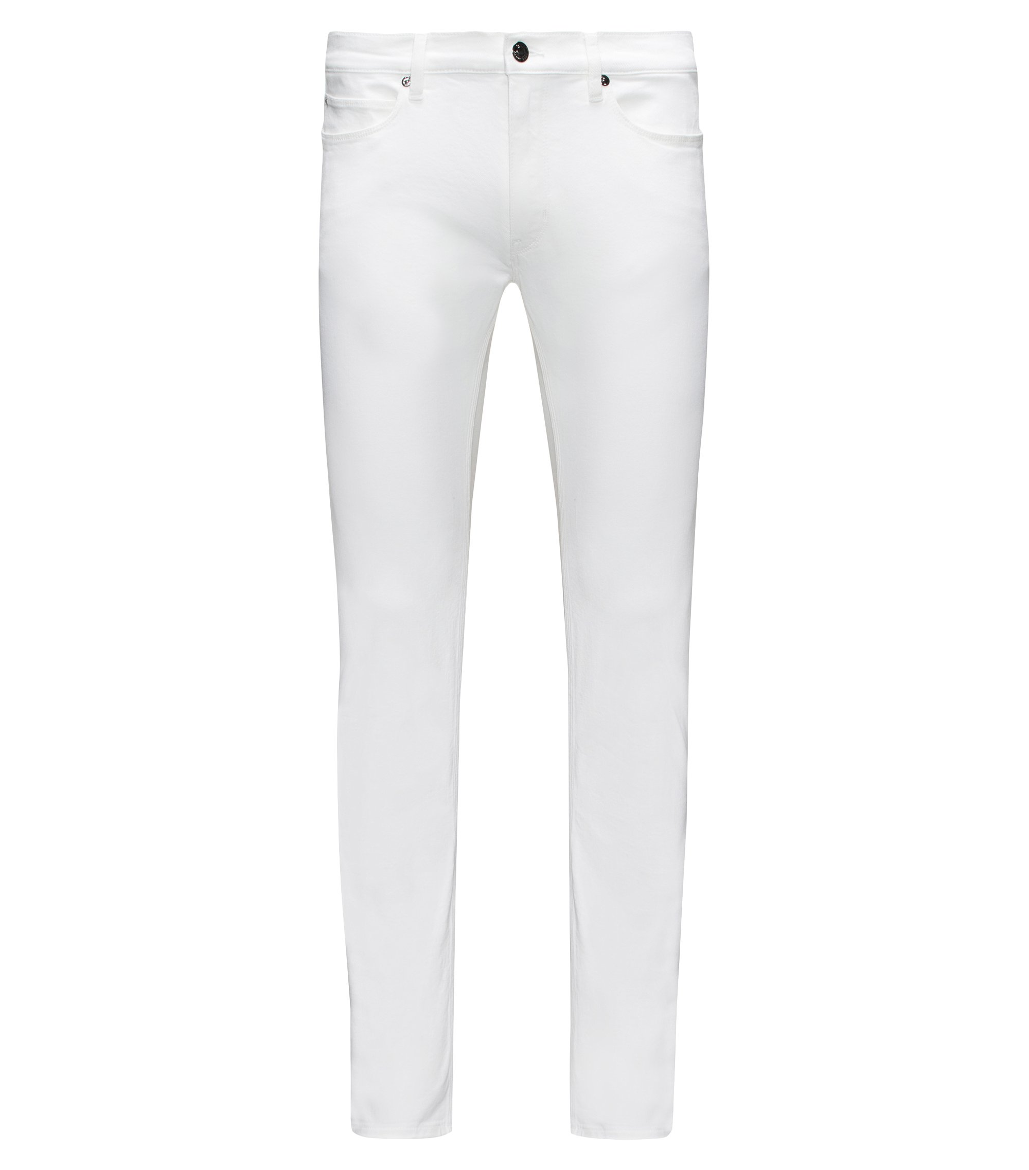 Stretch Cotton Jean, Slim Fit | Hugo 708, Natural