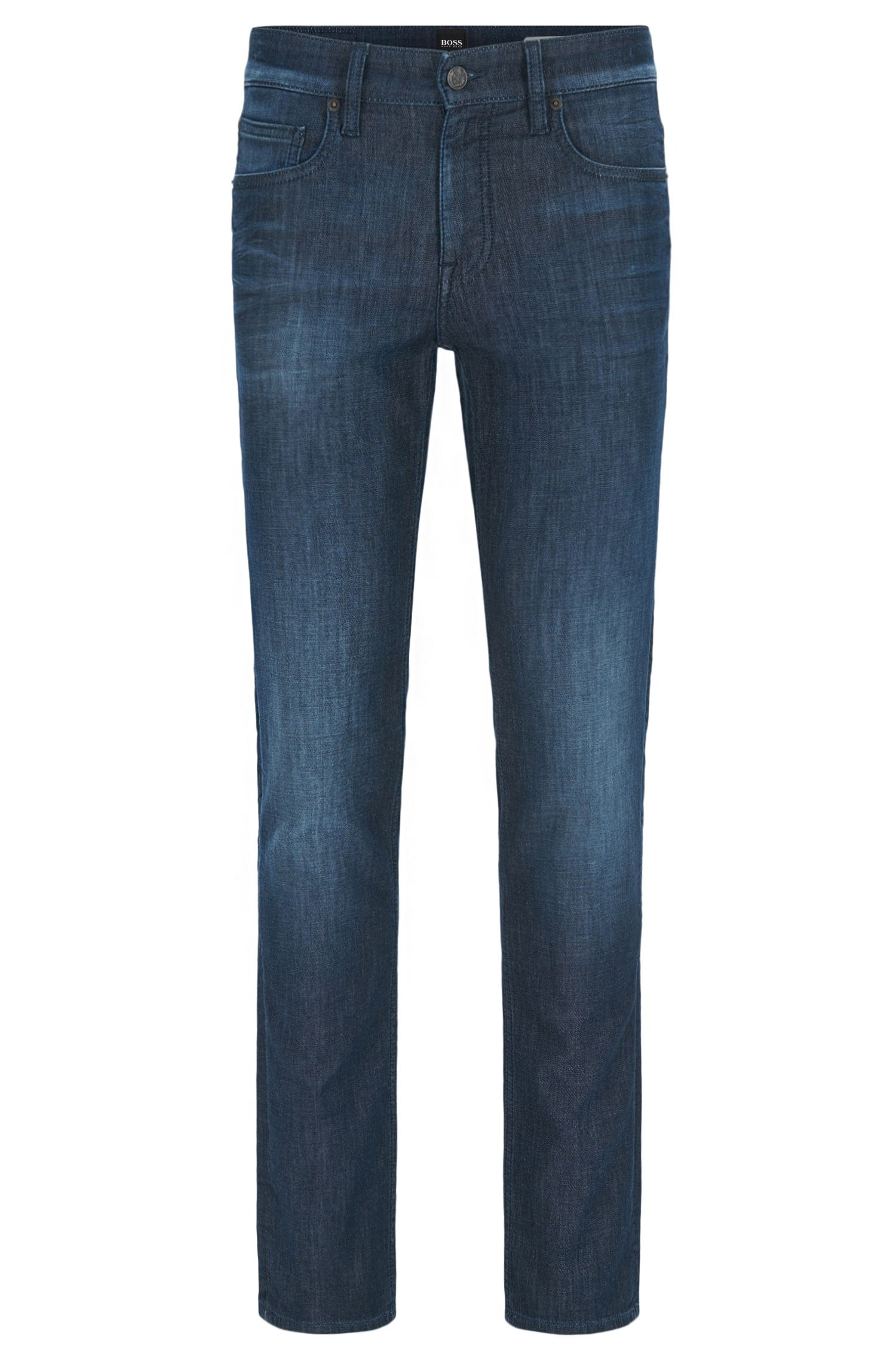 Stretch Cotton Jean, Slim Fit | Orange63 Helsinki-P