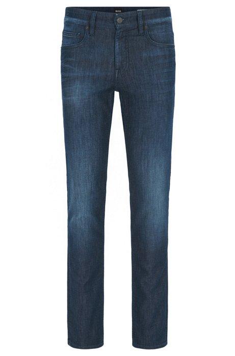 Jeans Ajustement Conique Dans Le Patron De Coton Extensible Confort me8ar5su2y