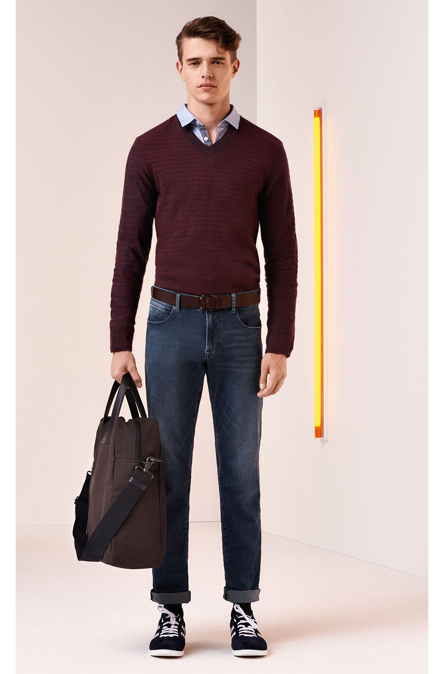 Stretch Cotton Jean, Regular Fit | Orange24 Barcelona