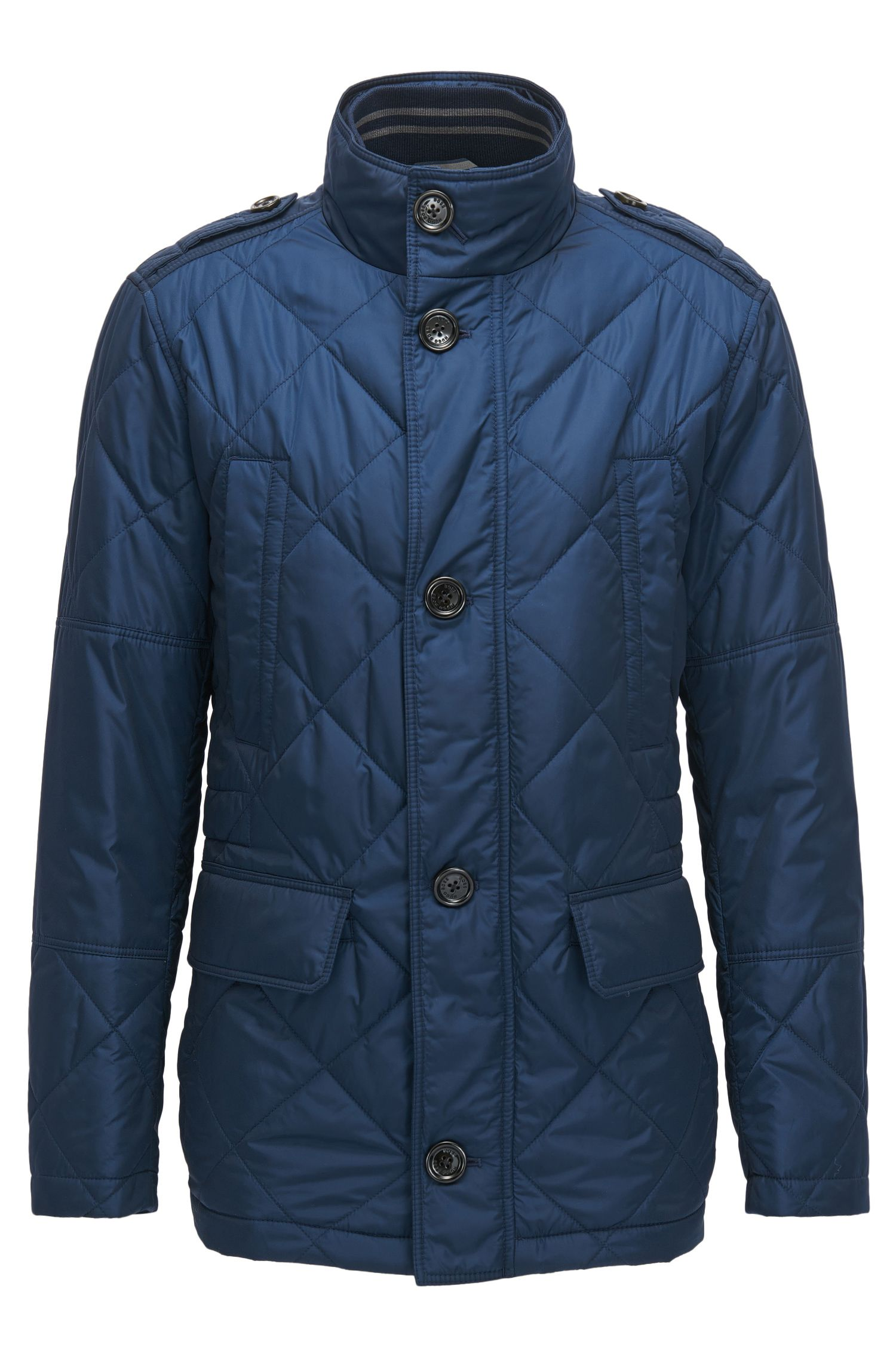 Quilted Nylon Field Jacket | Corvaro