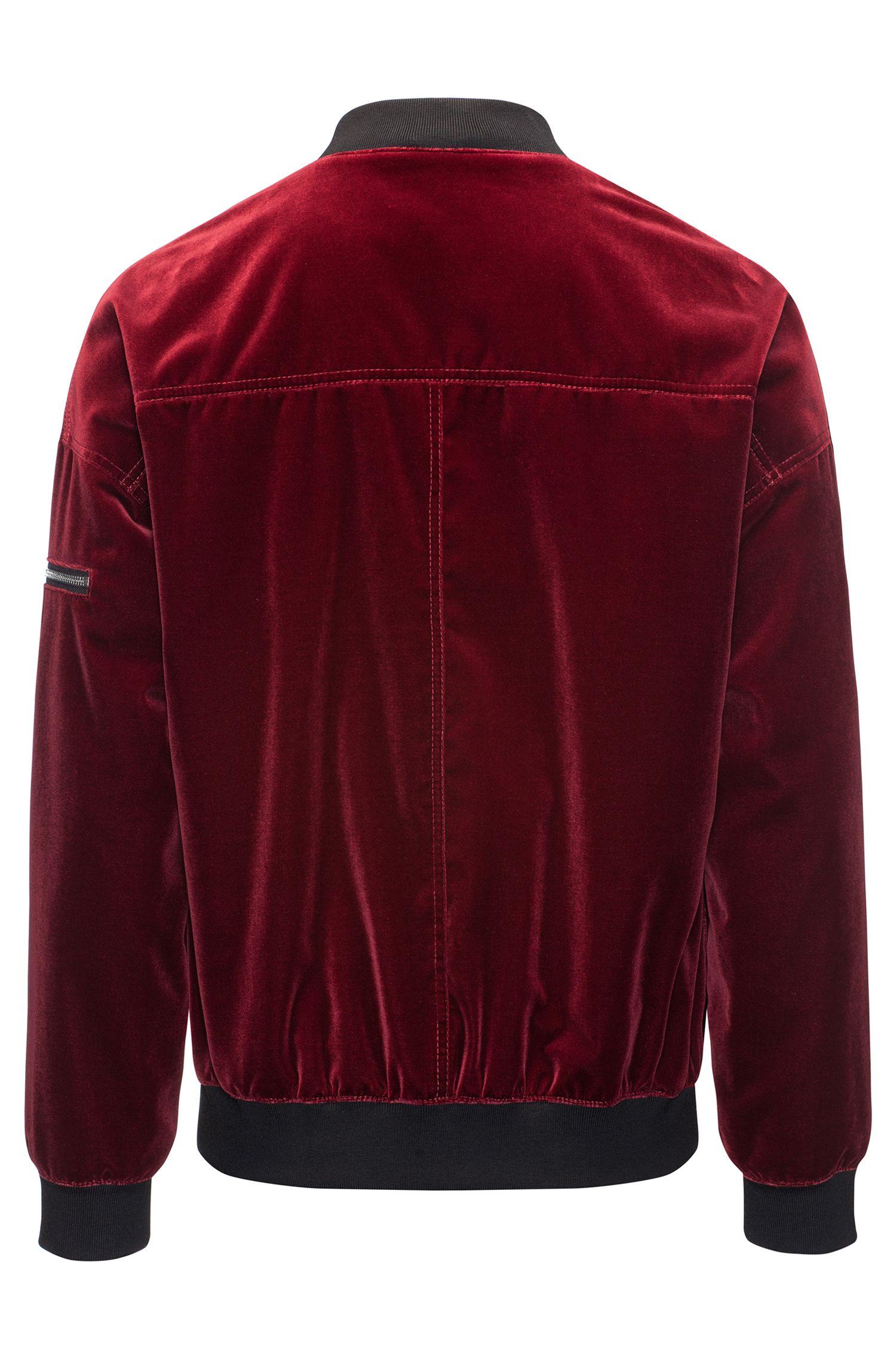 Velvet Bomber Jacket | Bitrel