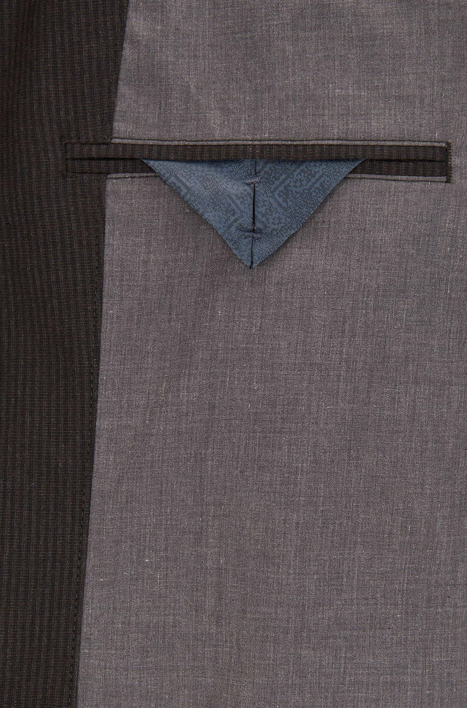 Cotton Blend Sport Coat, Slim Fit | Becks BS