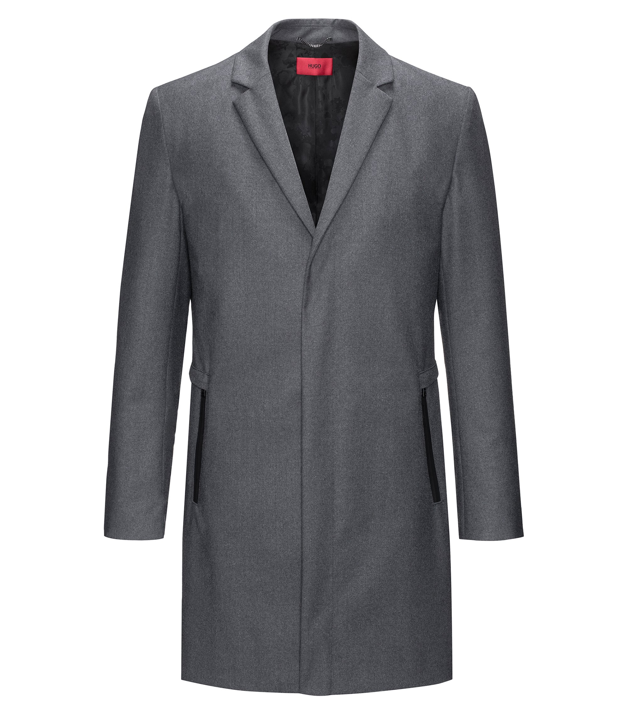 Wool-Blend Coat | Miscaro, Grey