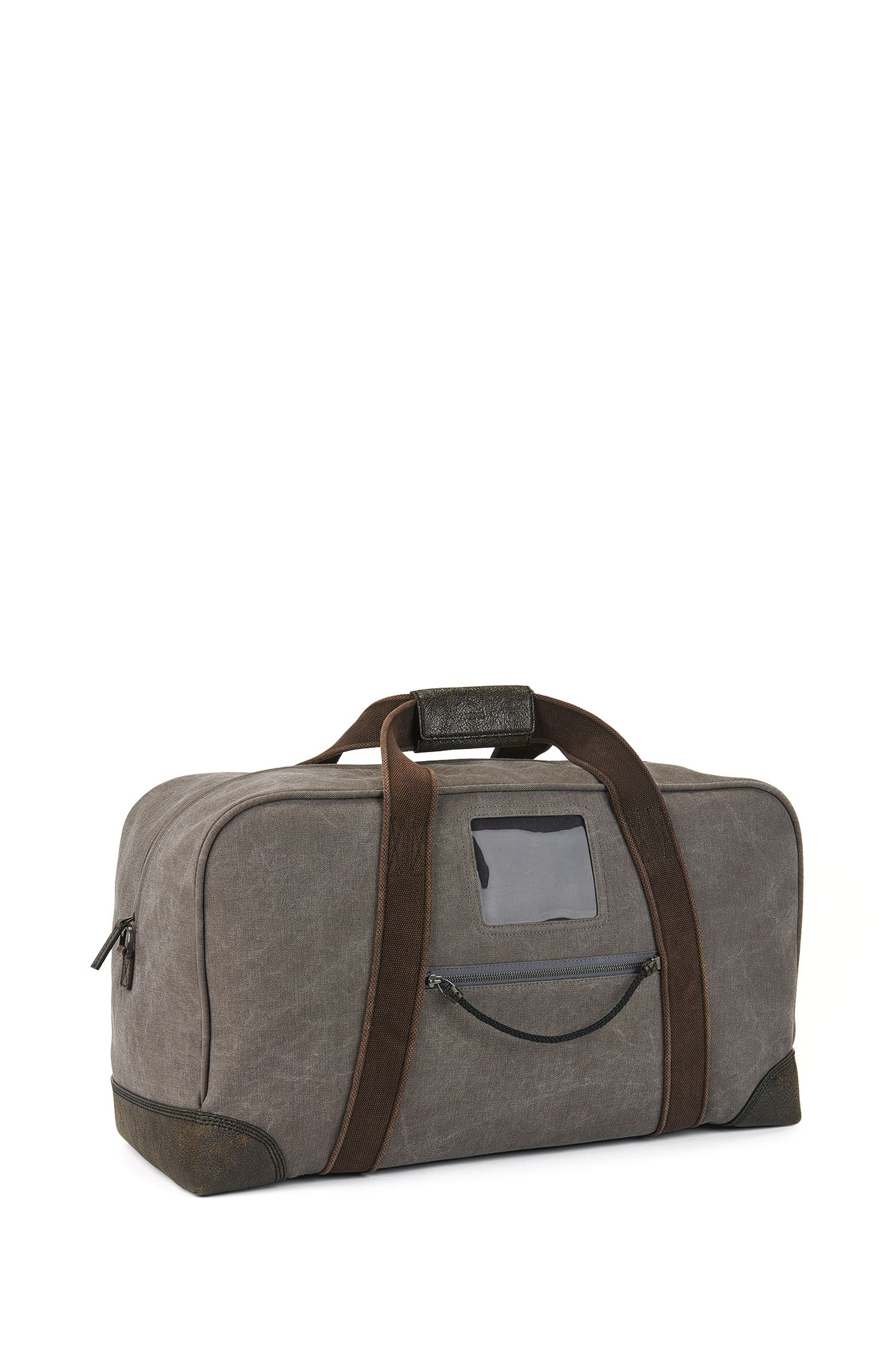 Crossbody Technical Bag | 'Explorer', Charcoal
