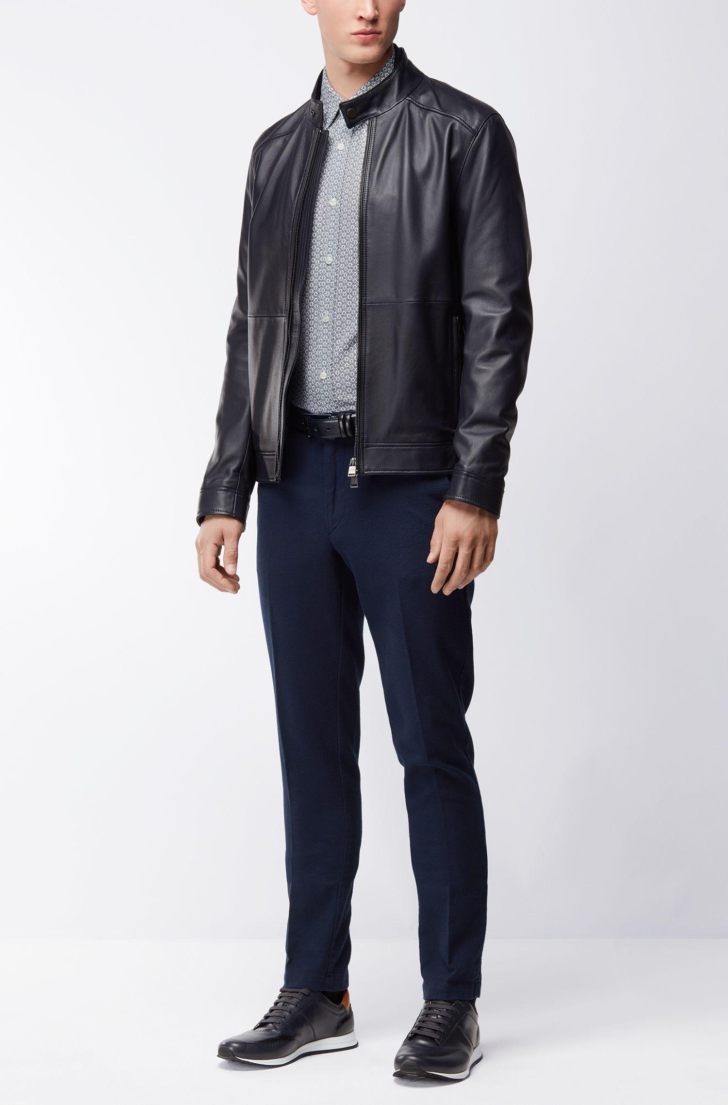 Circle-Patterned Cotton Sport Shirt, Regular Fit | Lukas