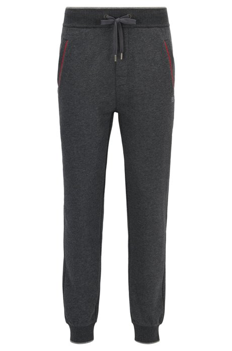 a54128826 BOSS - Piped Cotton Blend Jersey Lounge Pant | Authentic Pant