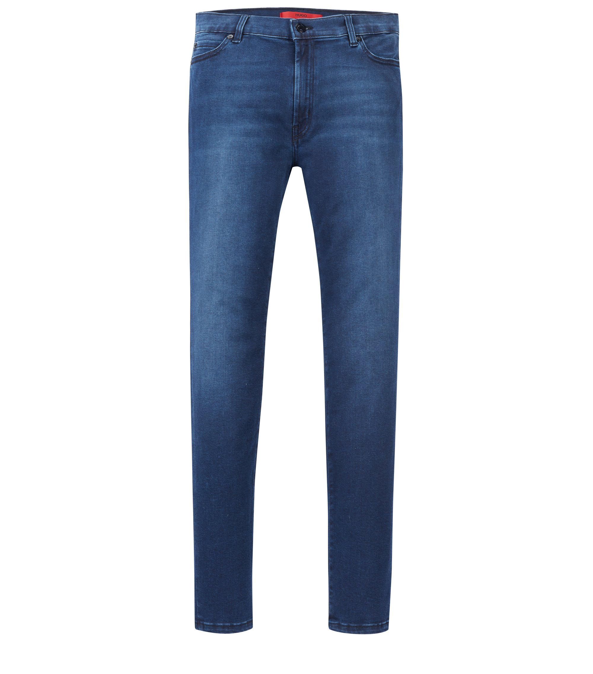 Stretch Cotton Jean, Extra Slim Fit | Georgina, Dark Blue