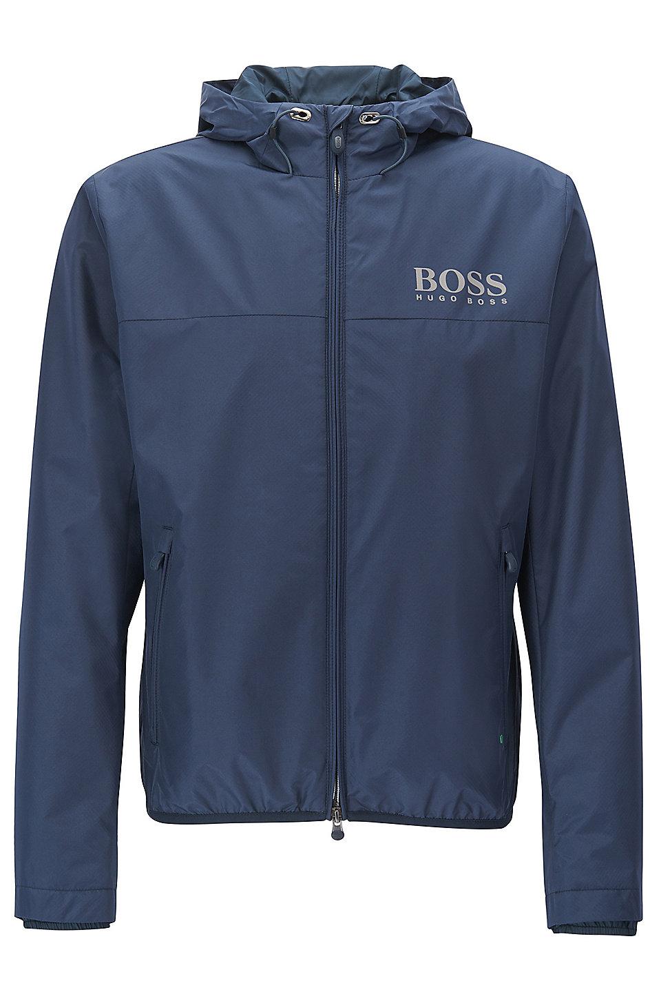 boss logo print jacket jaltech. Black Bedroom Furniture Sets. Home Design Ideas