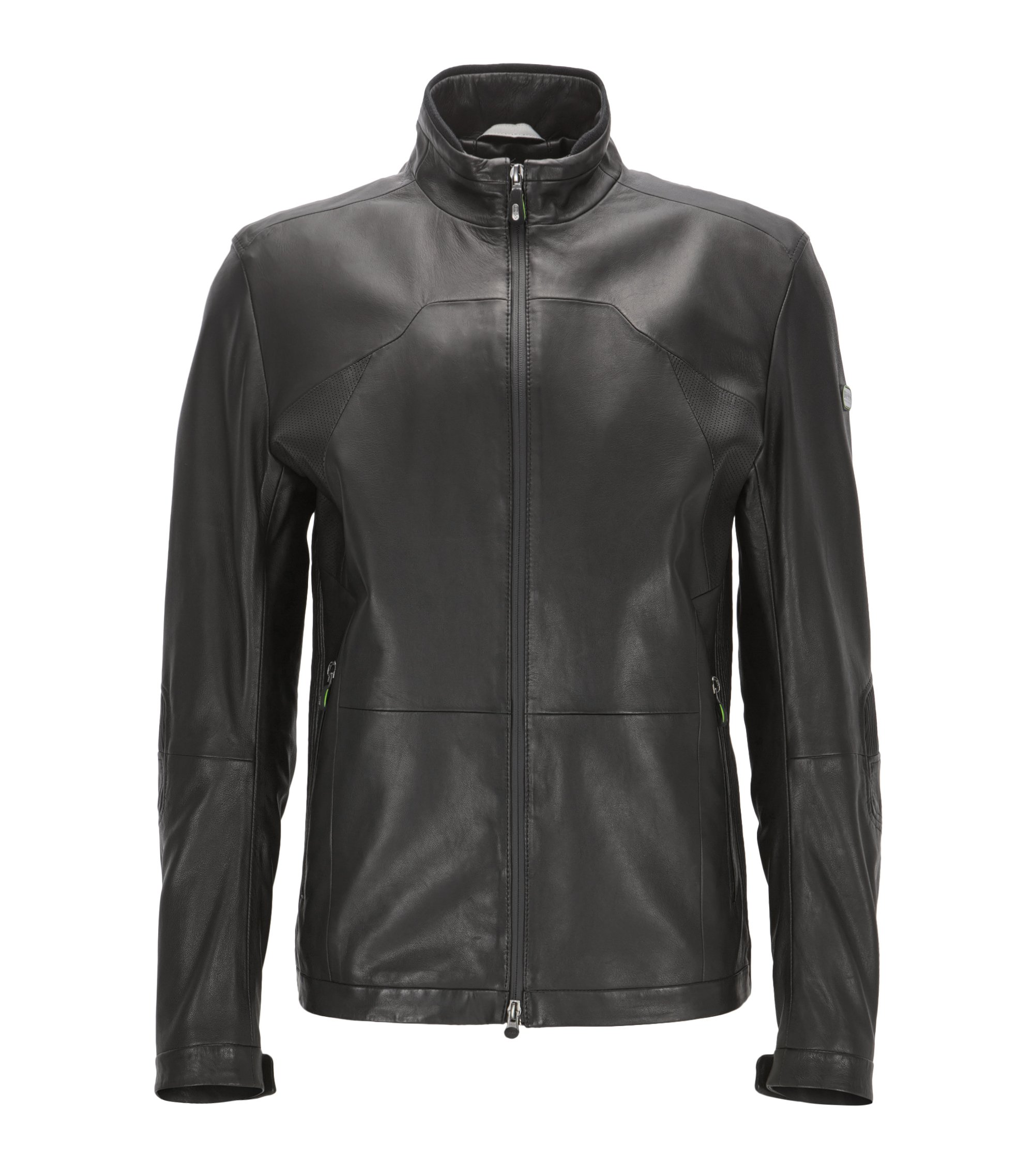 Lamb Leather Jacket | Joulon, Black