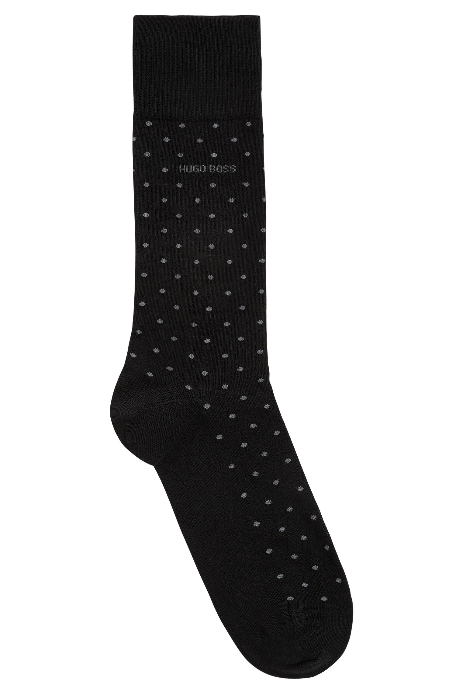 Dotted Stretch Cotton Socks | RS Dot US CC