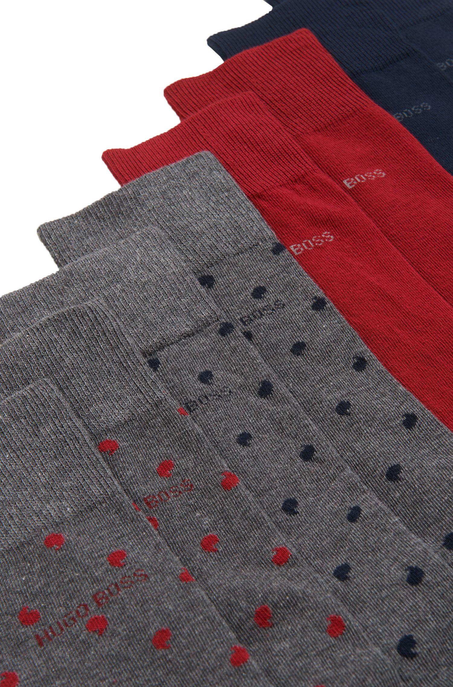 Stretch Cotton Socks Gift Set | 4P RS Gift Set US CC