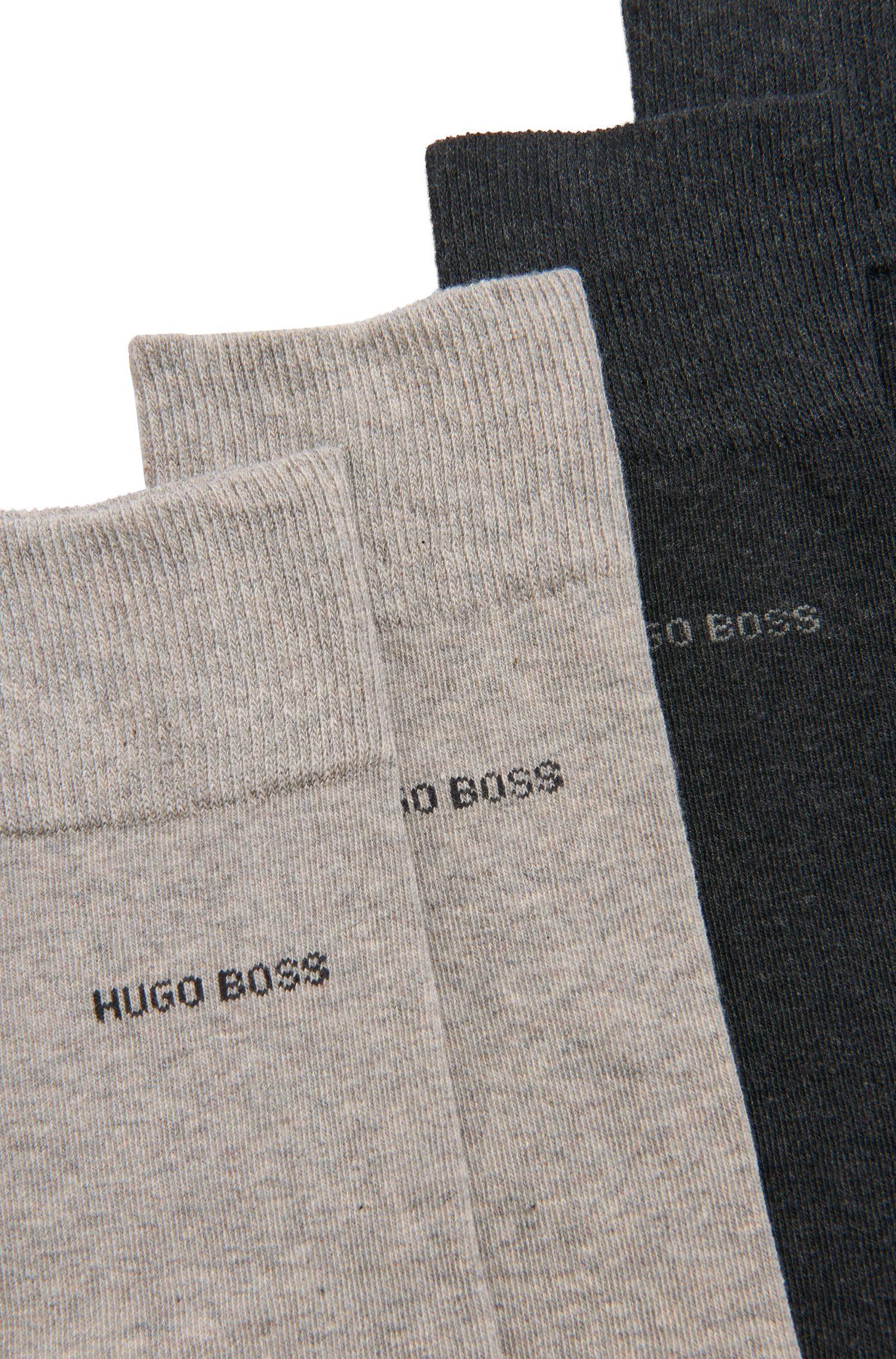 Stretch Cotton Socks Gift Set | 4P RS Gift Set US CC, Patterned