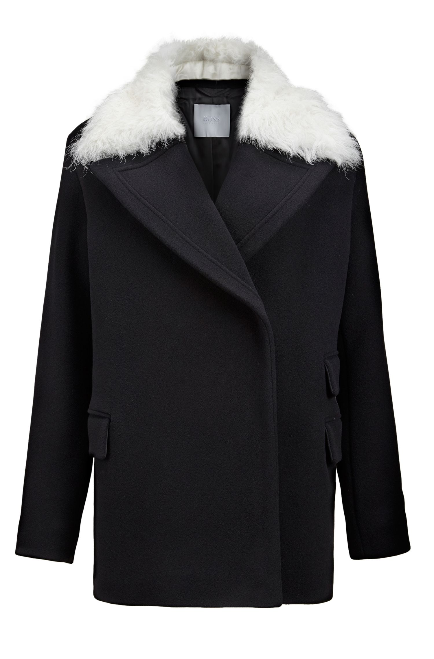 Shearling Wool-Cashmere Jacket | FS Palisena