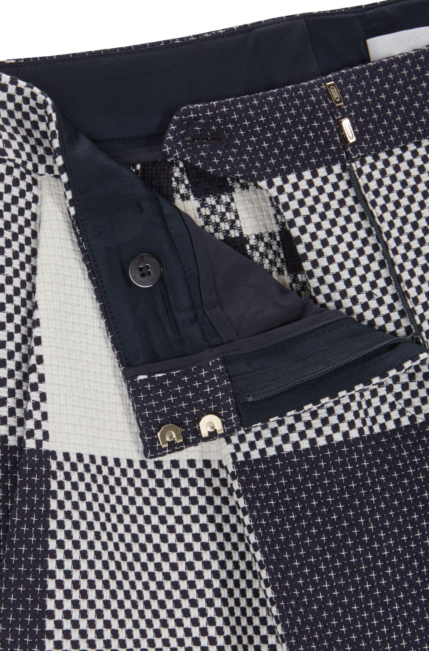 Cotton Wide Leg Pant | FS Tefia, Patterned
