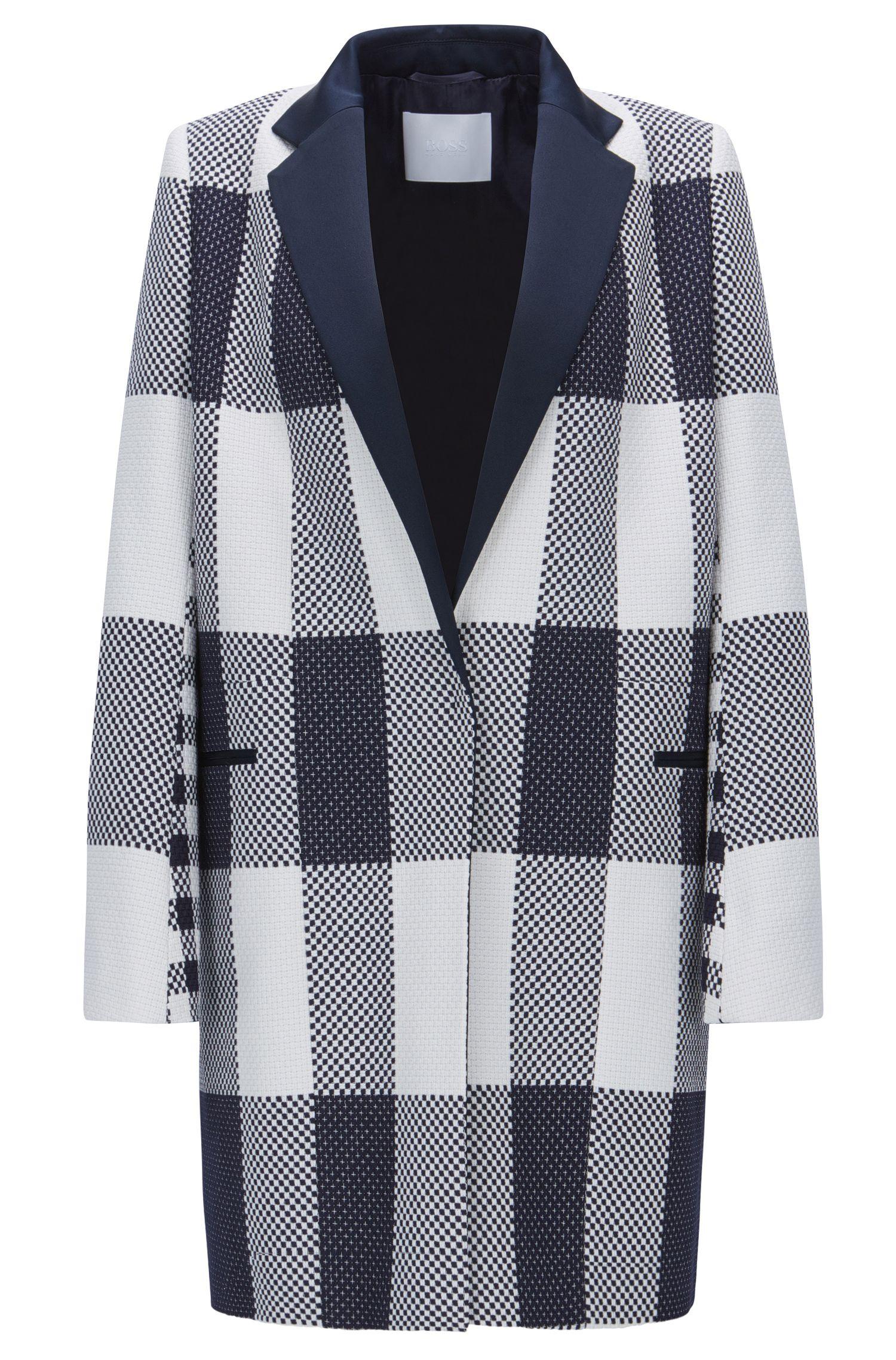 Cotton Plaid Jacket | FS Caleama