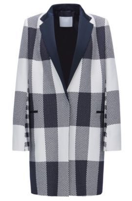Cotton Plaid Jacket | FS Caleama, Patterned