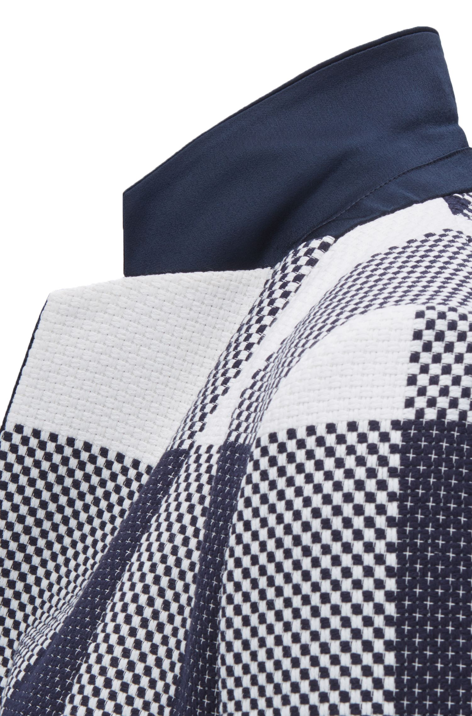 Cotton Plaid Jacket | FS Caleama, Patterned