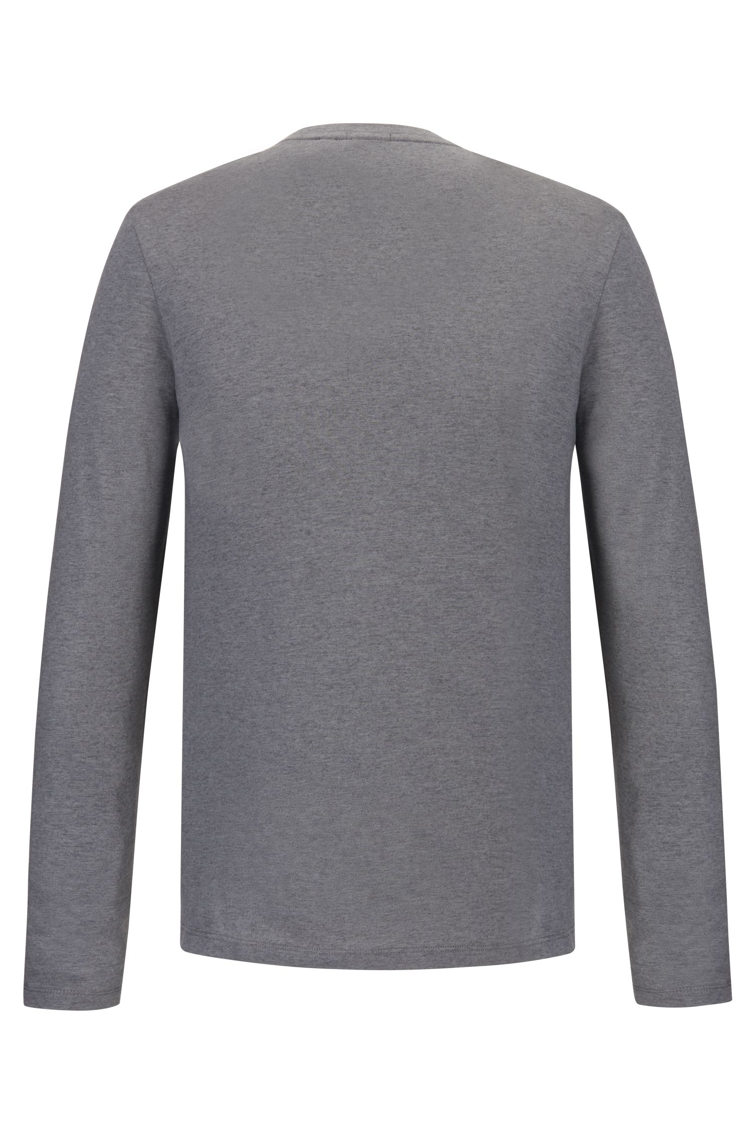 Cotton-Cashmere T-Shirt | Tenison, Grey