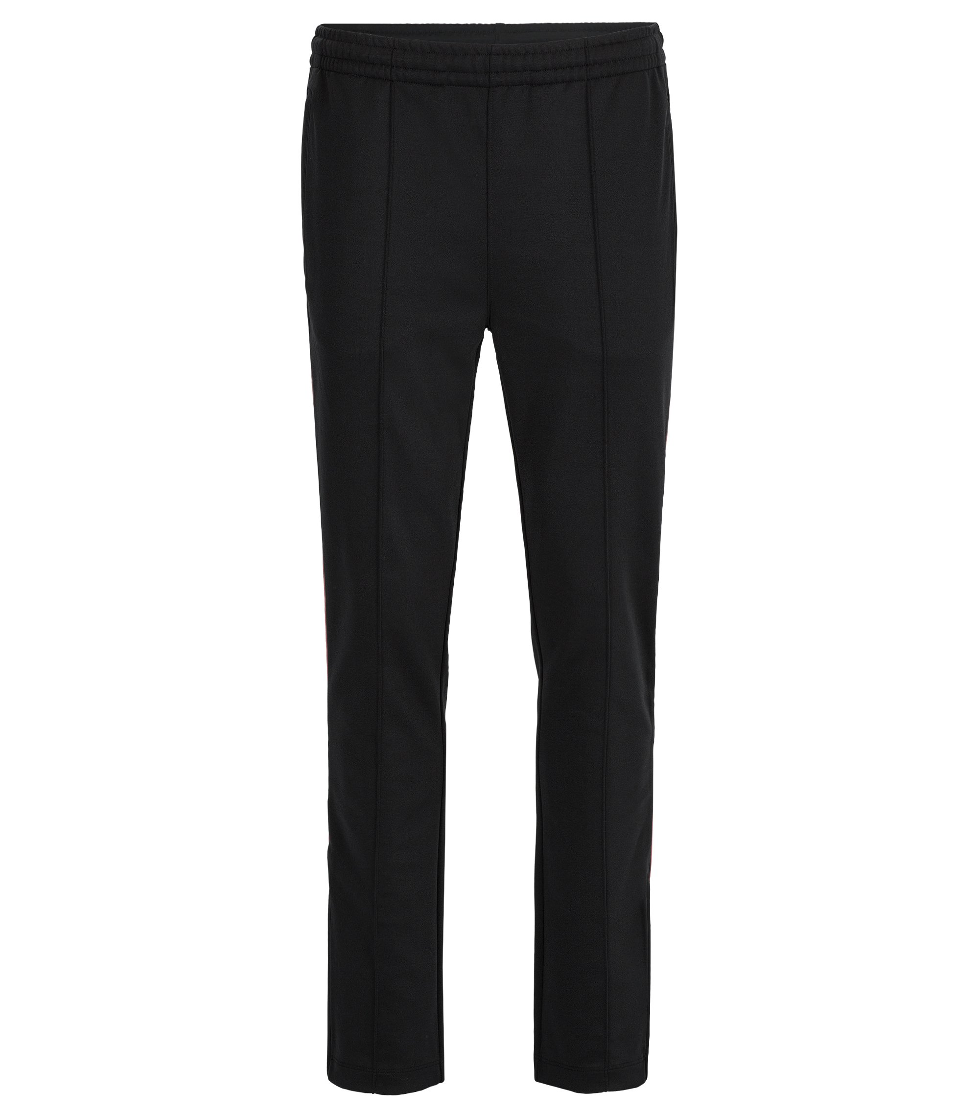 Stretch Cotton Broken Twill Pant, Slim Fit | Lamont, Black