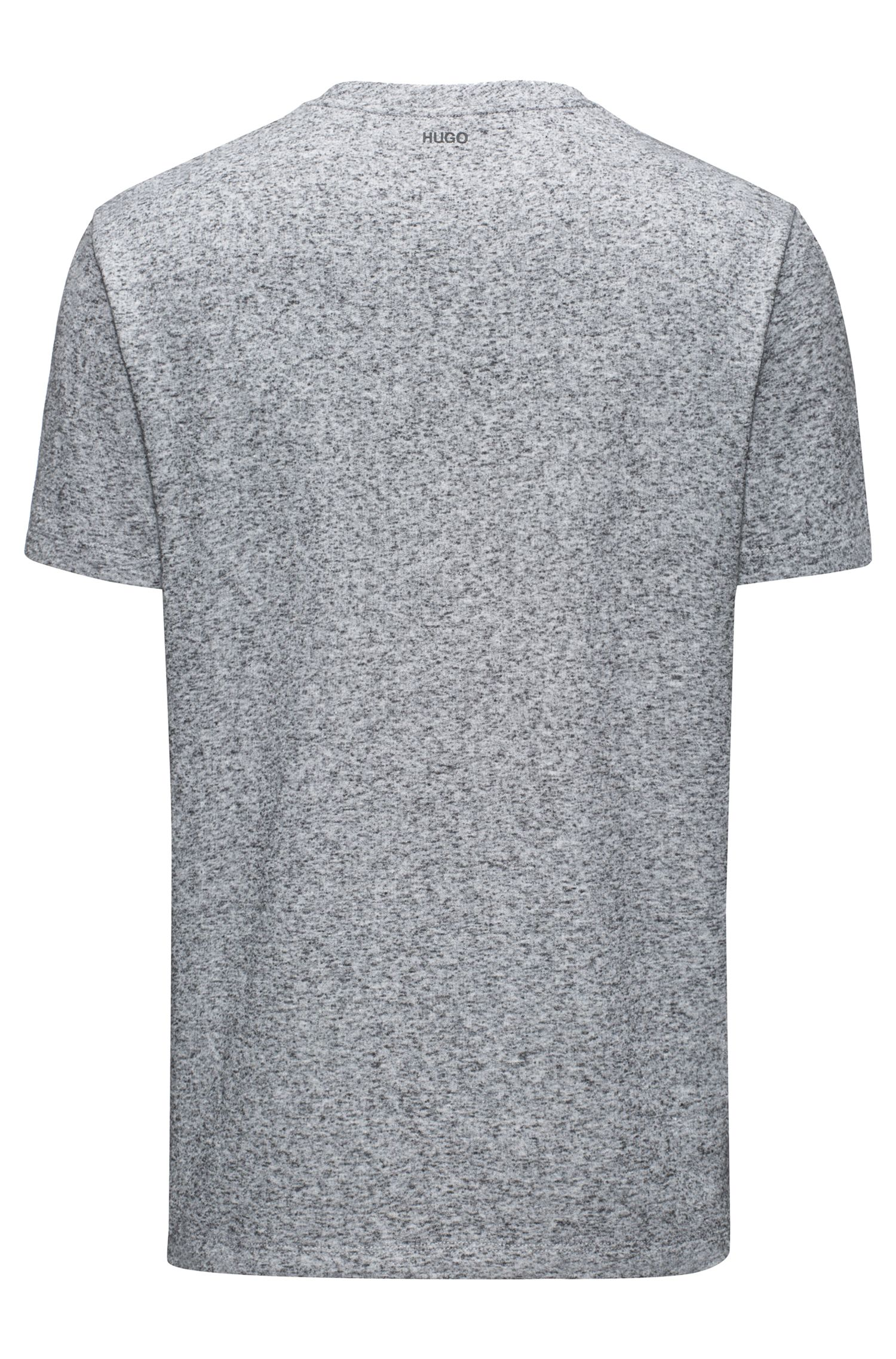Mouliné French Terry T-Shirt | Delushi, Grey
