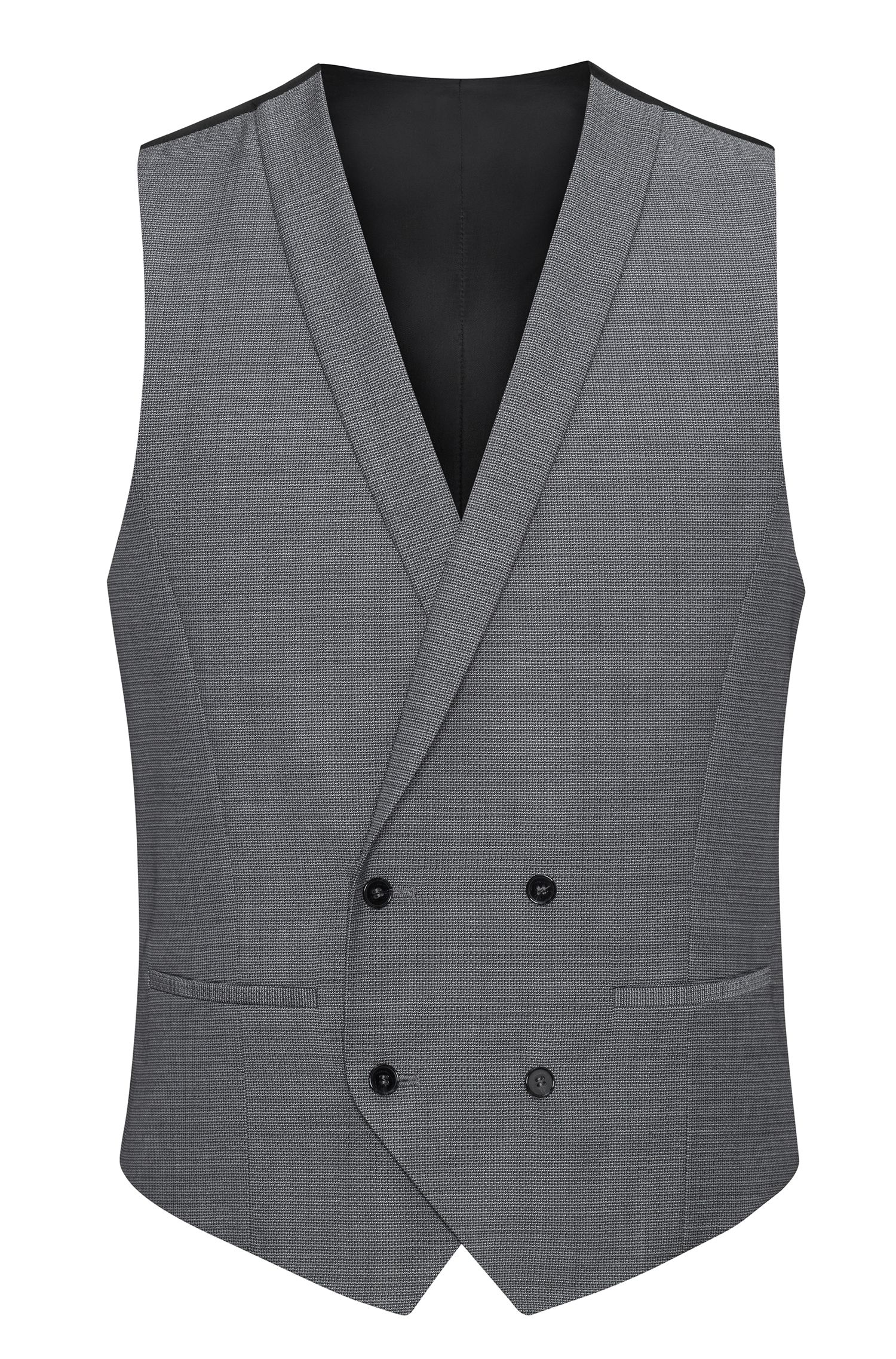 Super 100s Virgin Wool 3-Piece Suit, Extra Slim Fit | Admon/Wilms/Hesten