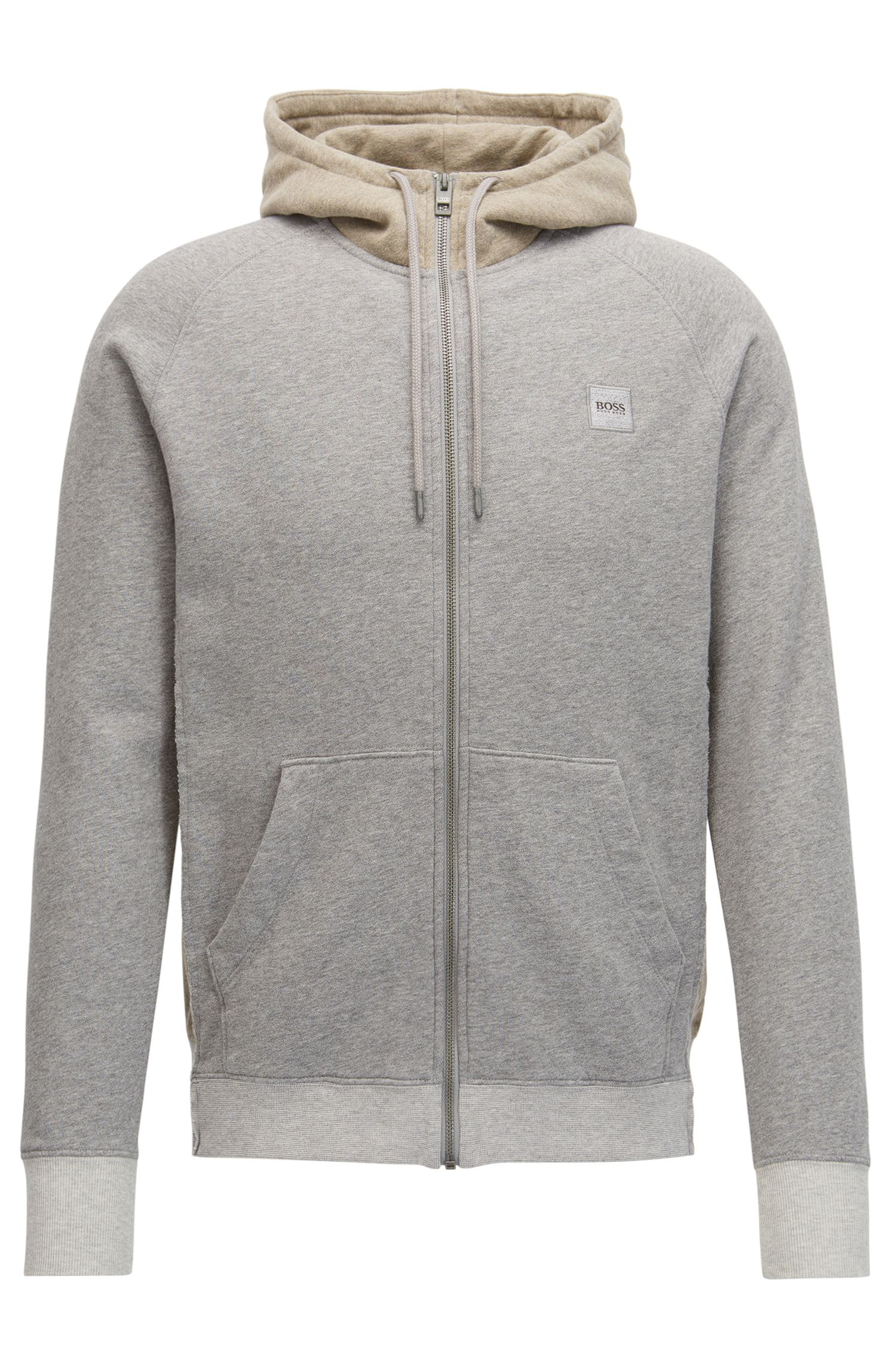 French Terry Full-Zip Hoodie | Zteen