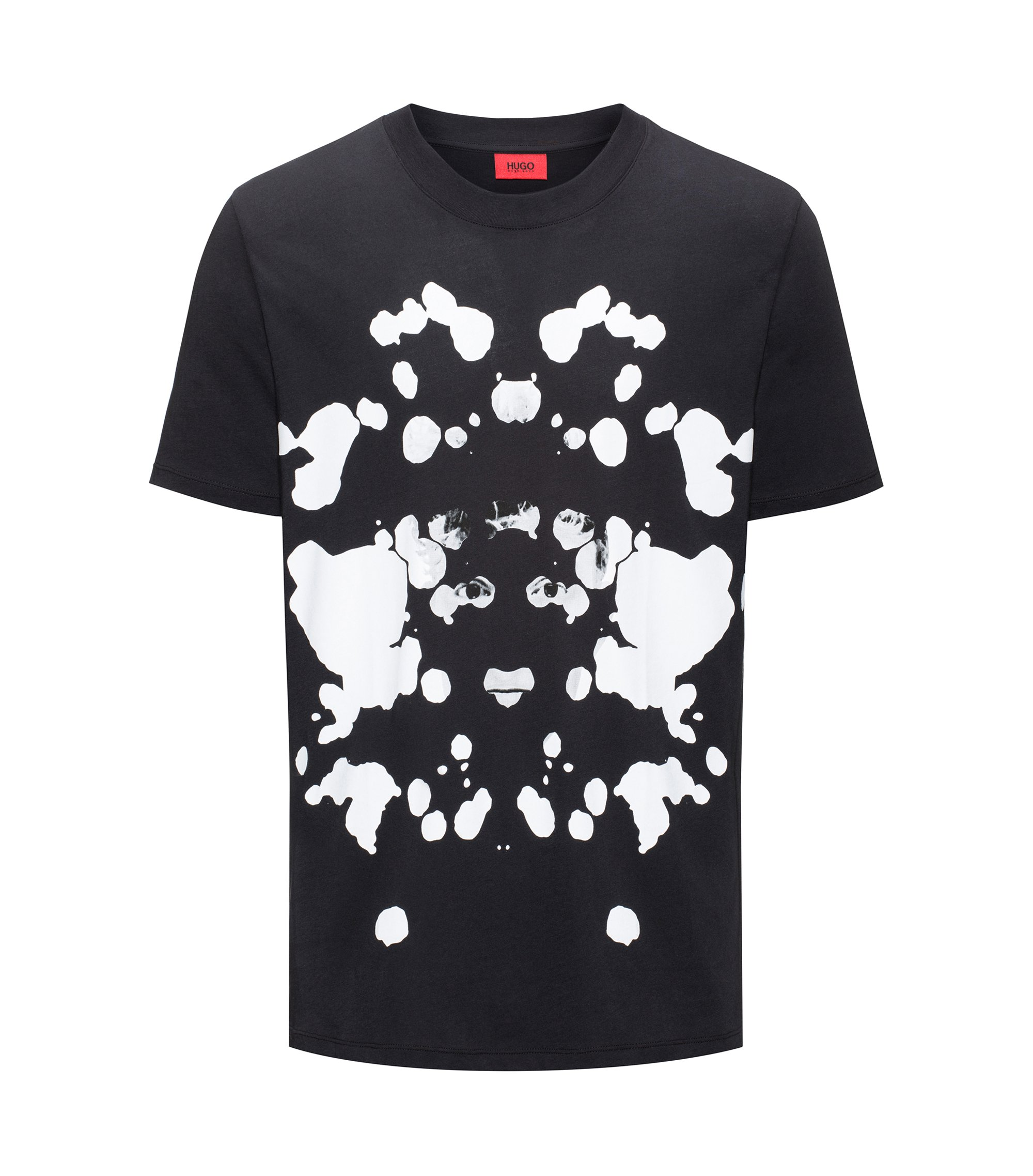 Cotton T-Shirt | Dorschach, Black