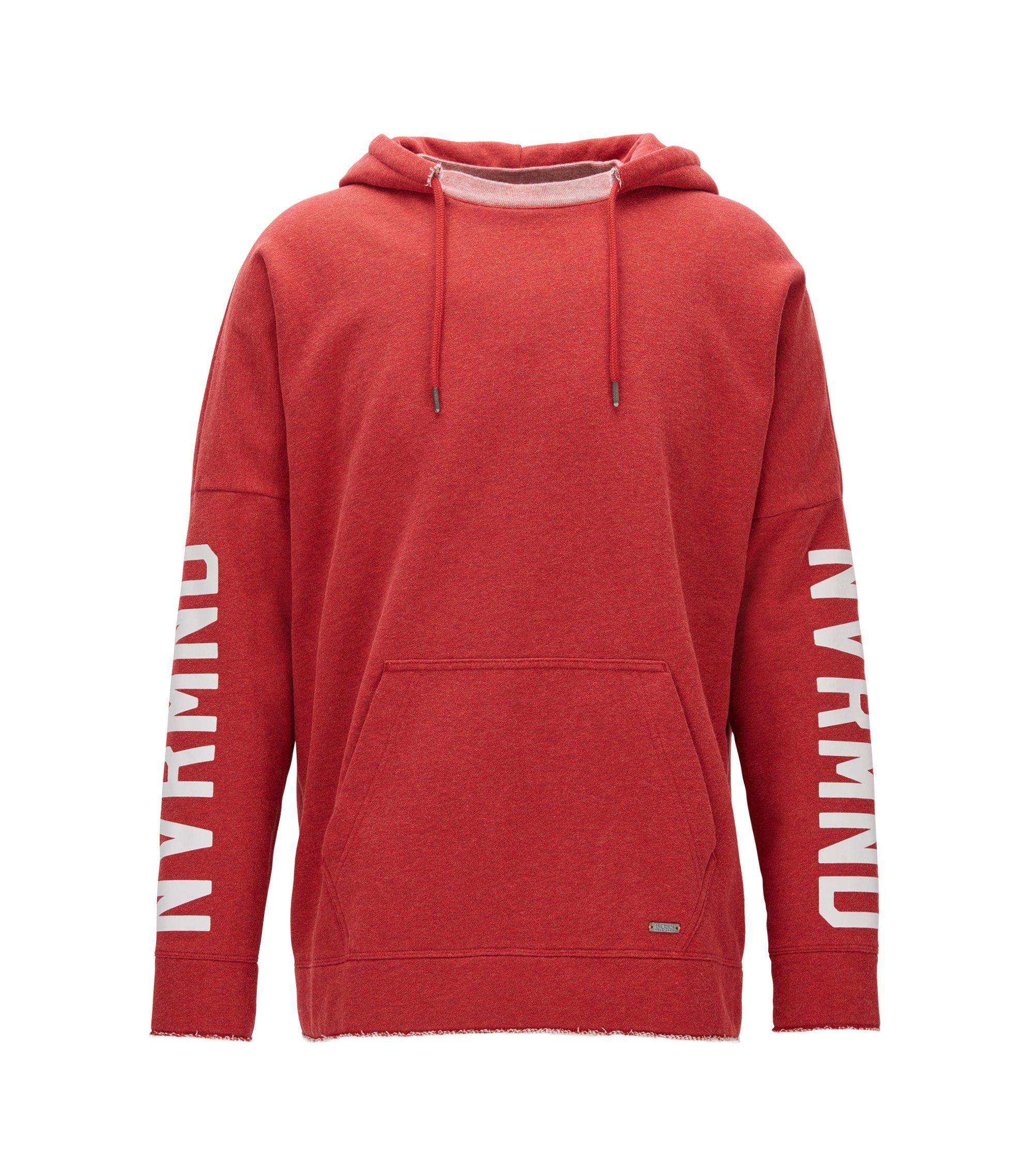 NVRMND Cotton Blend Hoodie | Werde, Red
