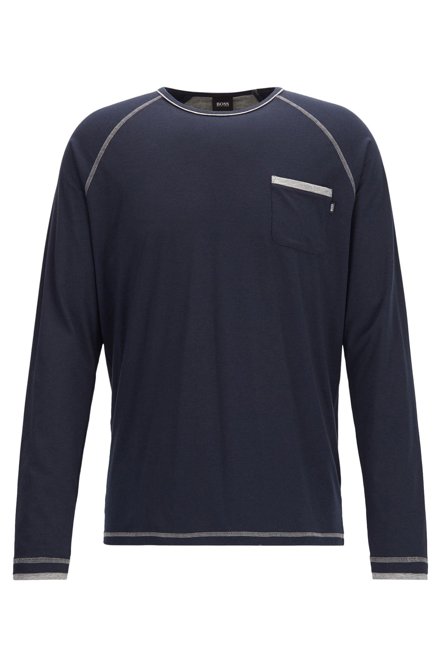 Stretch Jersey Long Sleeve T-Shirt | Balance LS Shirt RN