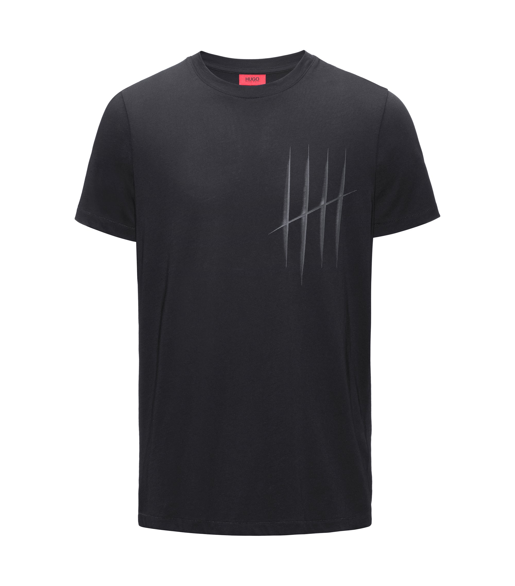 Jersey Graphic T-Shirt | Drison, Black