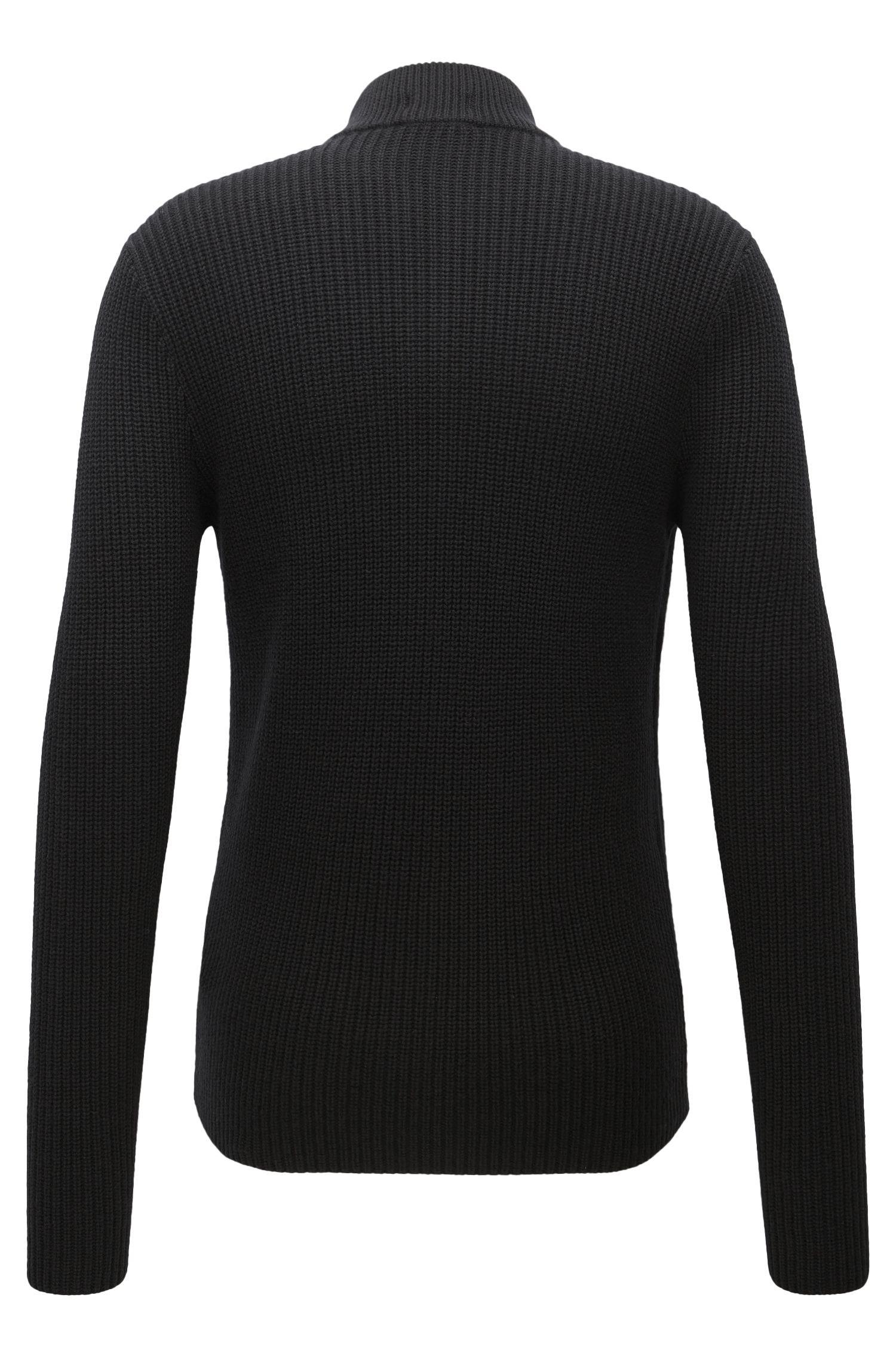Cotton-Wool Full-Zip Jacket | Picetti