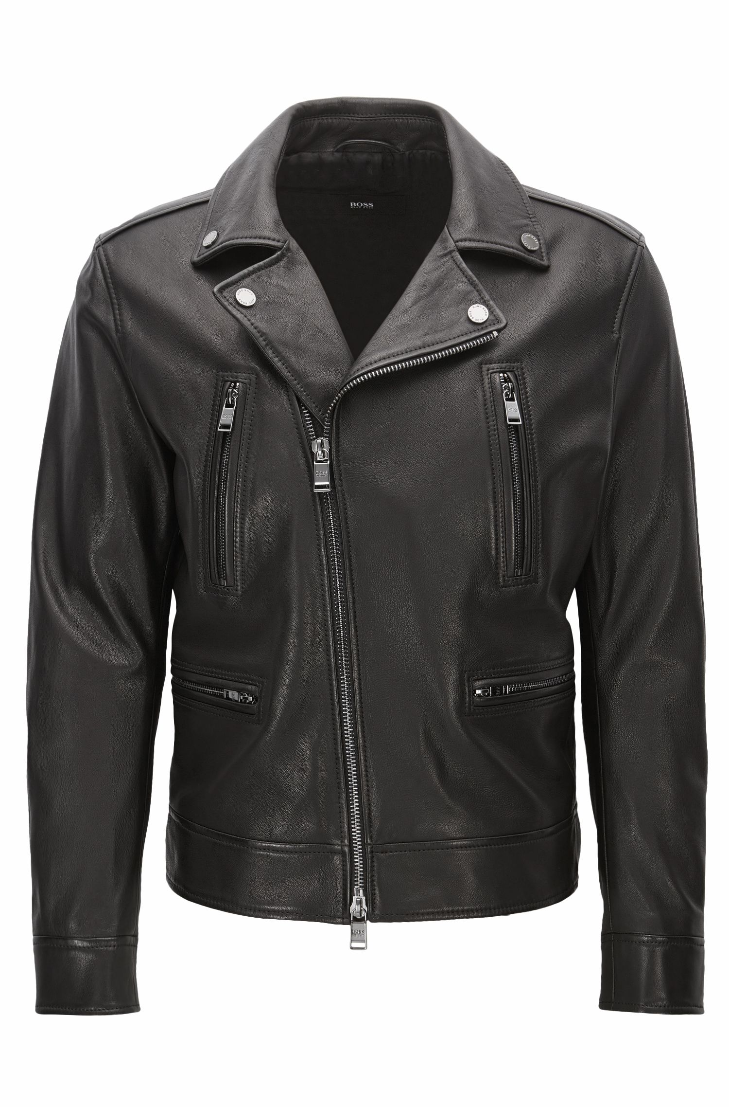 Nappa Leather Moto Jacket | Necko