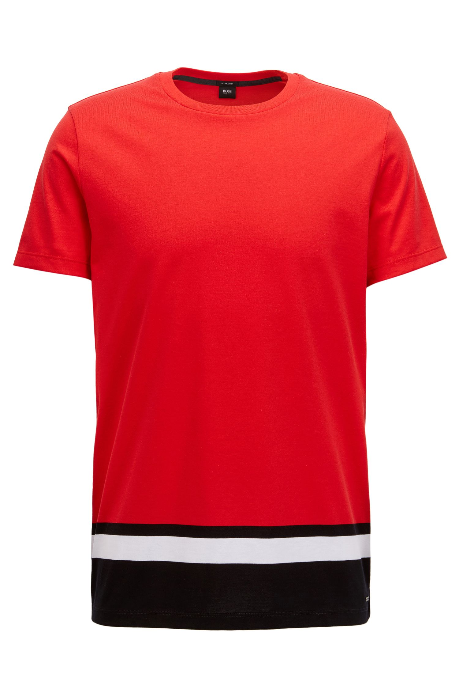 Colorblocked T-Shirt | Tiburt