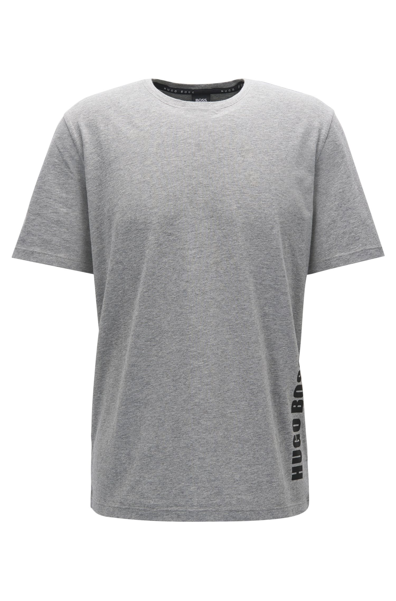 Logo-Print Jersey T-Shirt | Identity T-Shirt RN, Grey