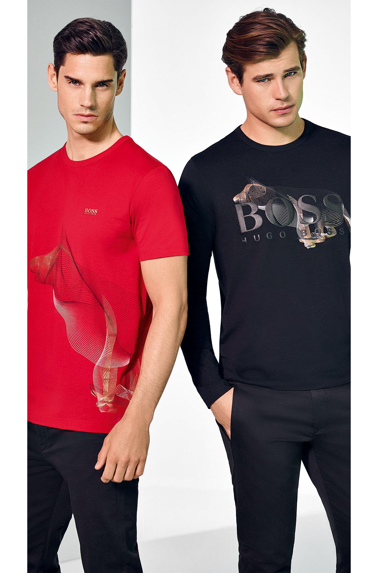 Logo-Embossed Cotton Shirt | Togn CNY, Black