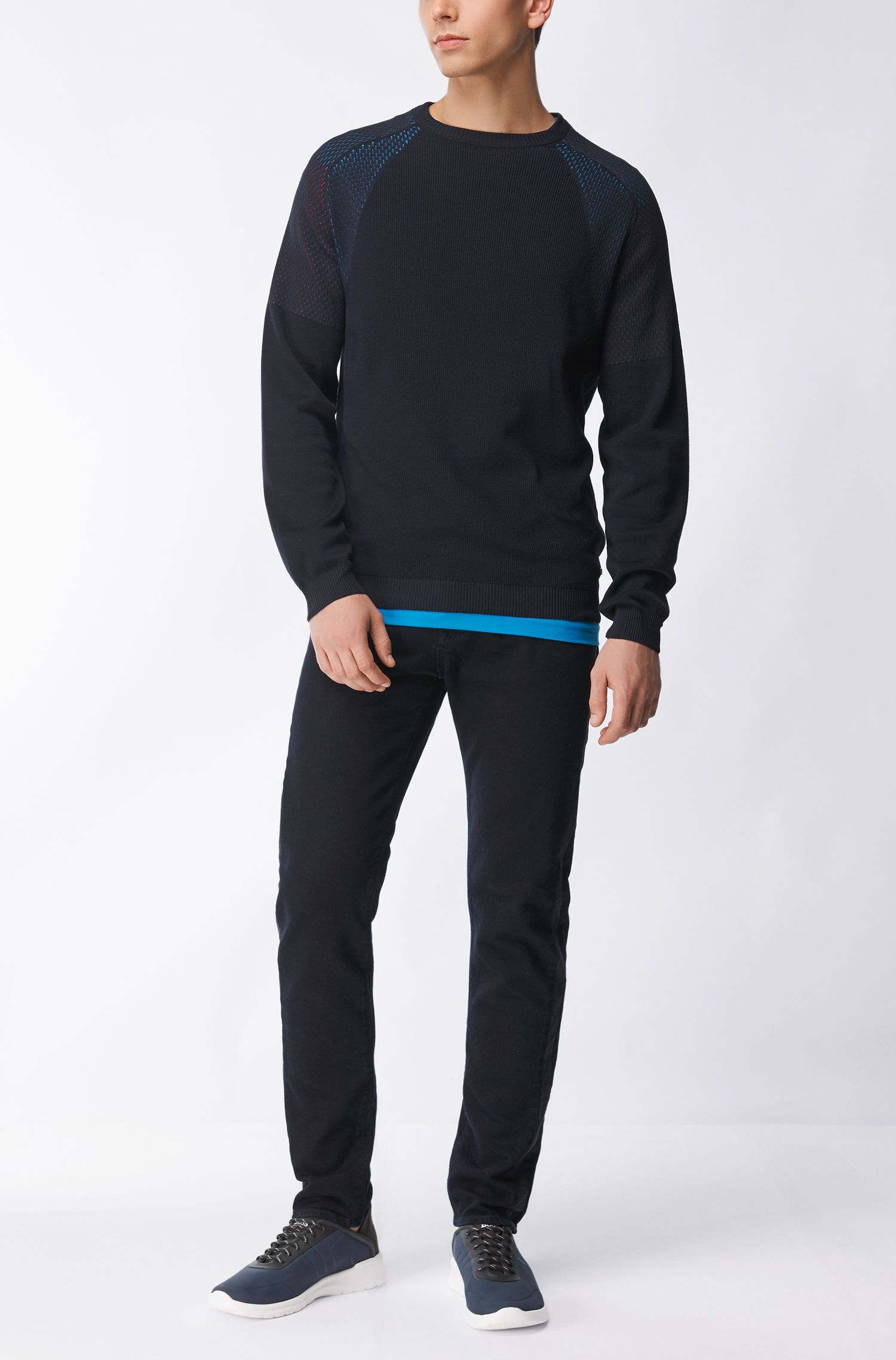 Technical Cotton Blend Sweater | Roser