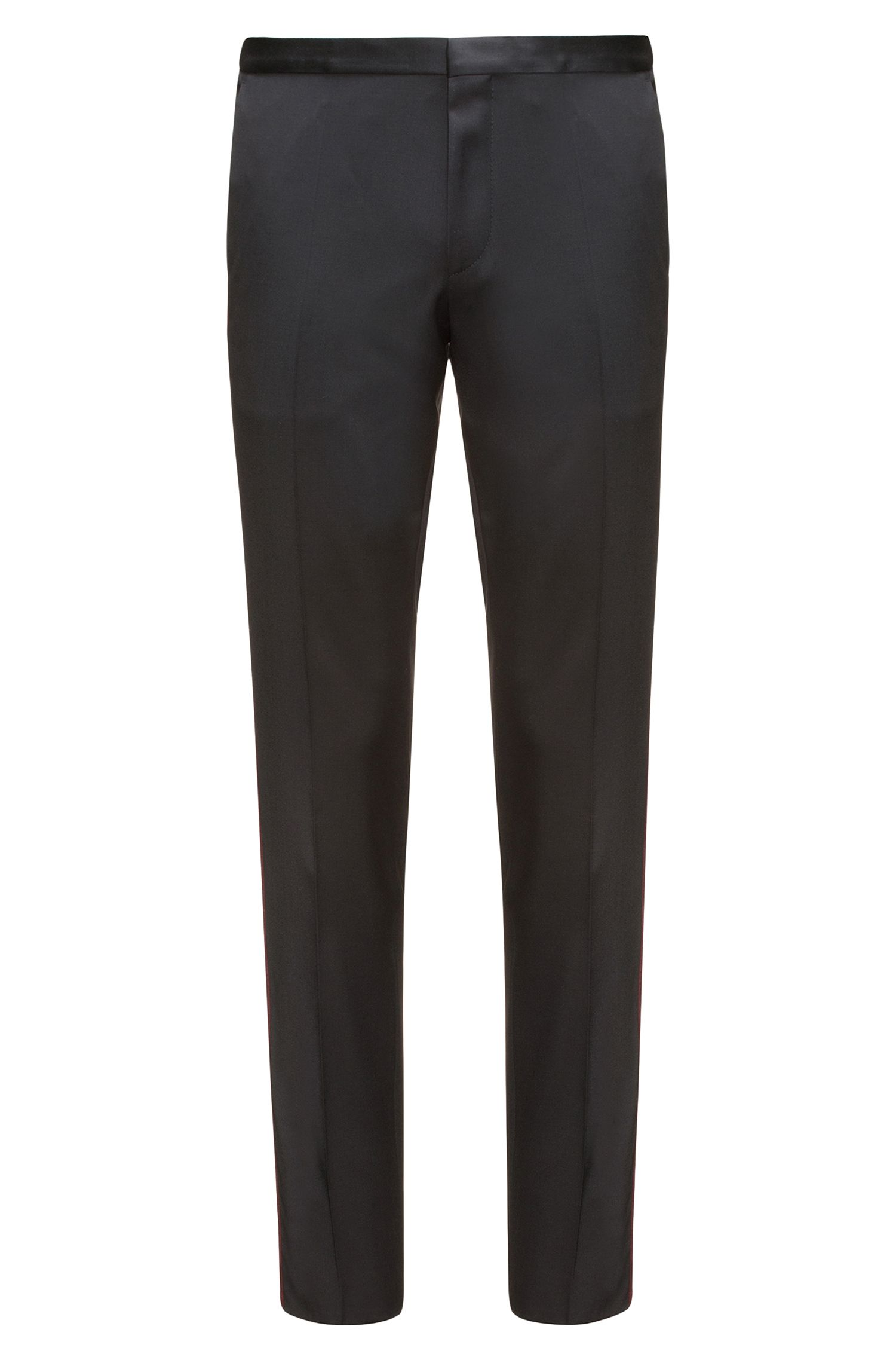 Virgin Wool Pant, Extra Slim Fit | Hemins