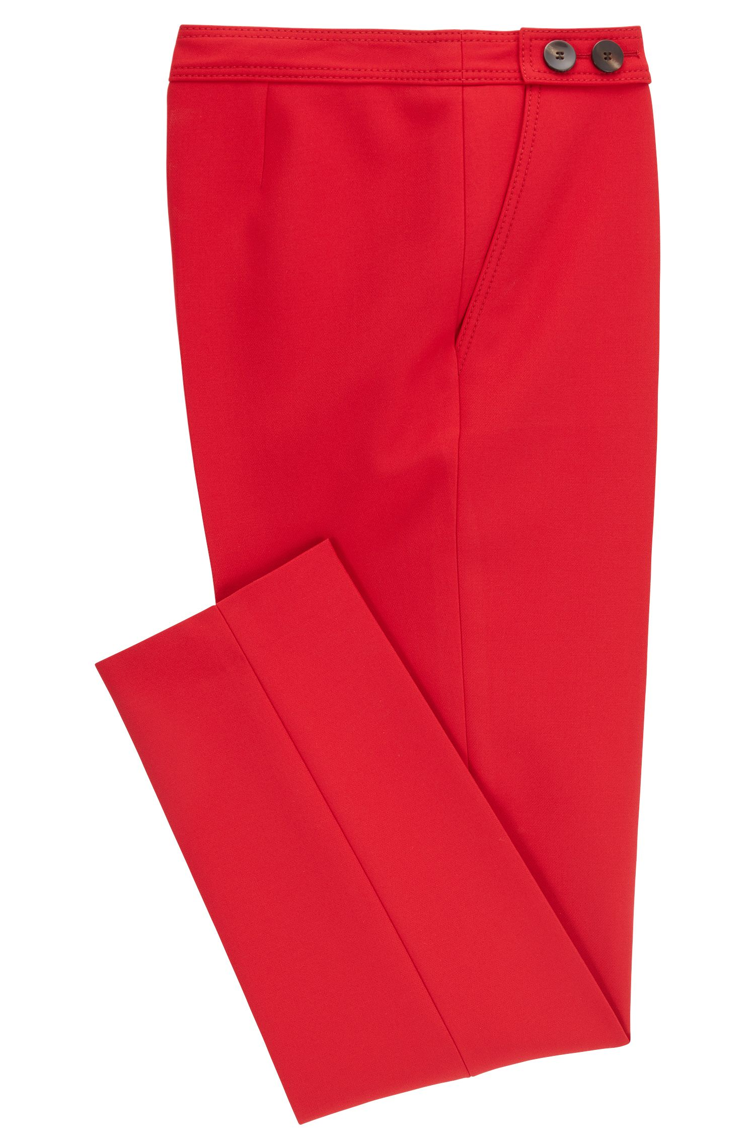 Stretch Pant | Tiokenia, Red
