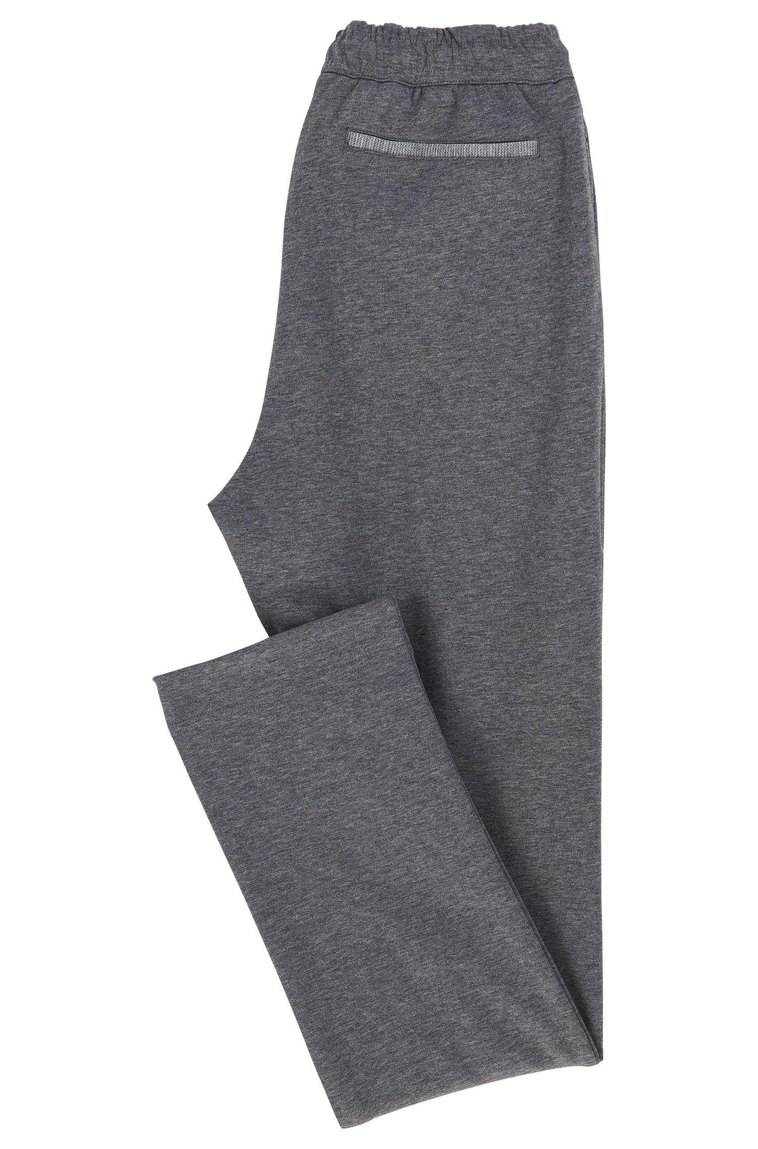 Cotton Blend Drawstring Sweat Pant | Hadim