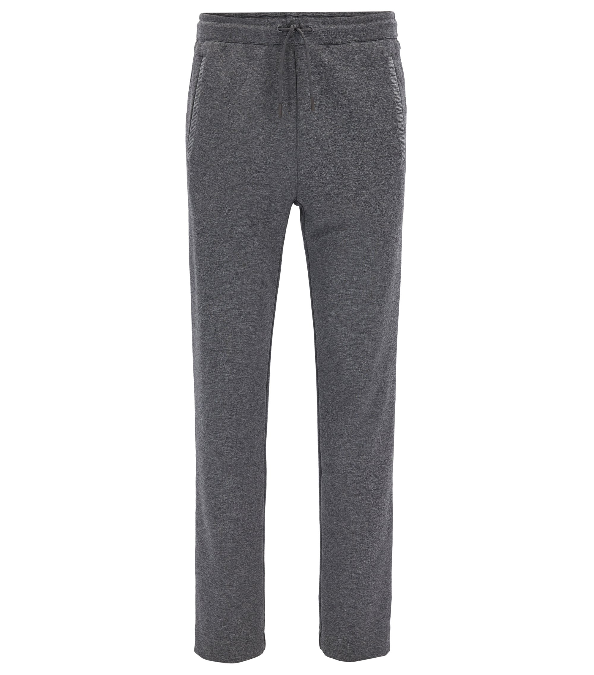 Cotton Blend Drawstring Sweat Pant | Hadim, Grey