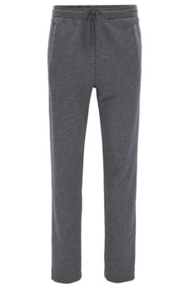 Cotton Blend Drawstring Sweat Pant | Hadim, Grey